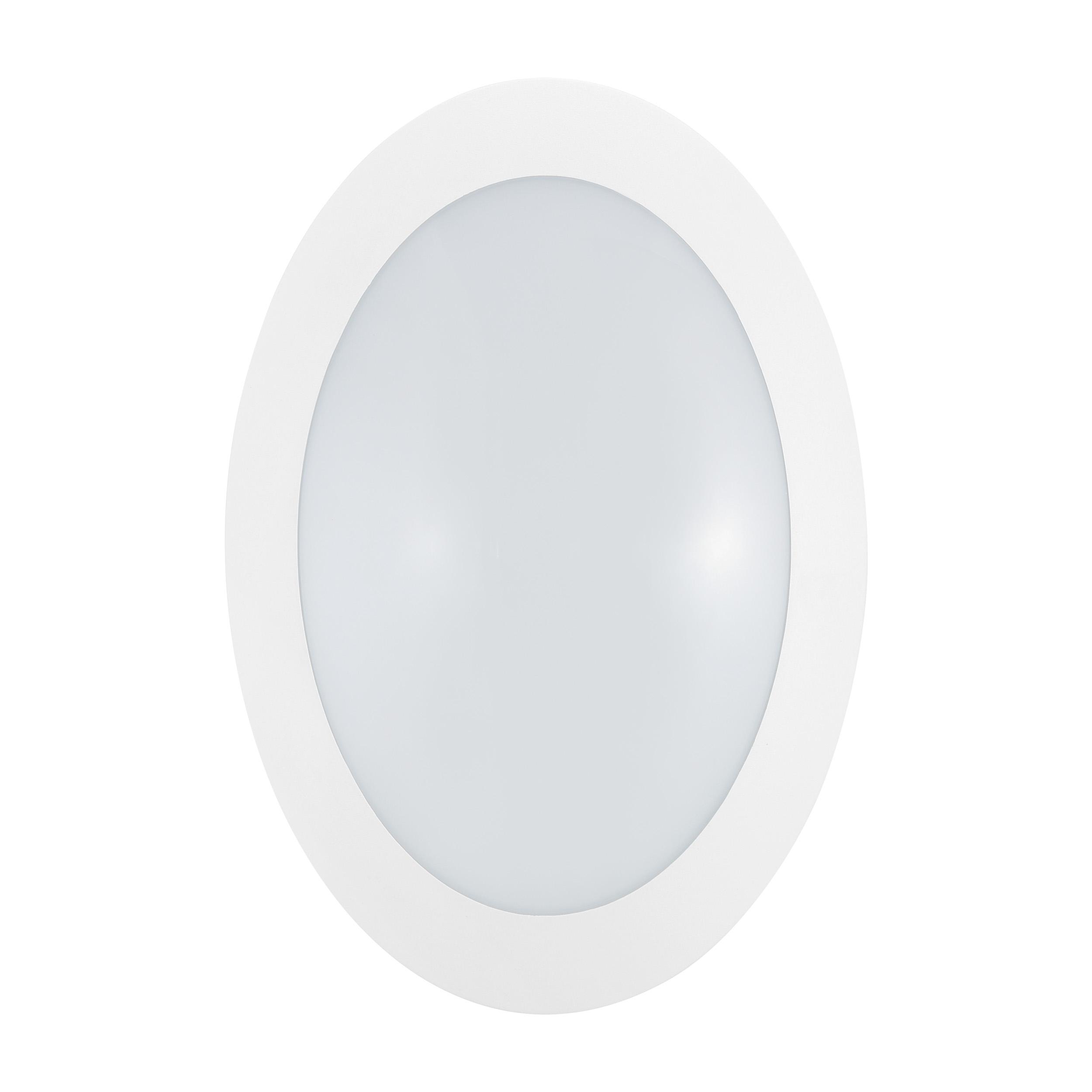 1 Stk Bellaria Wandaufbauleuchte oval 6W 3000K weiß IP66 LI62211---
