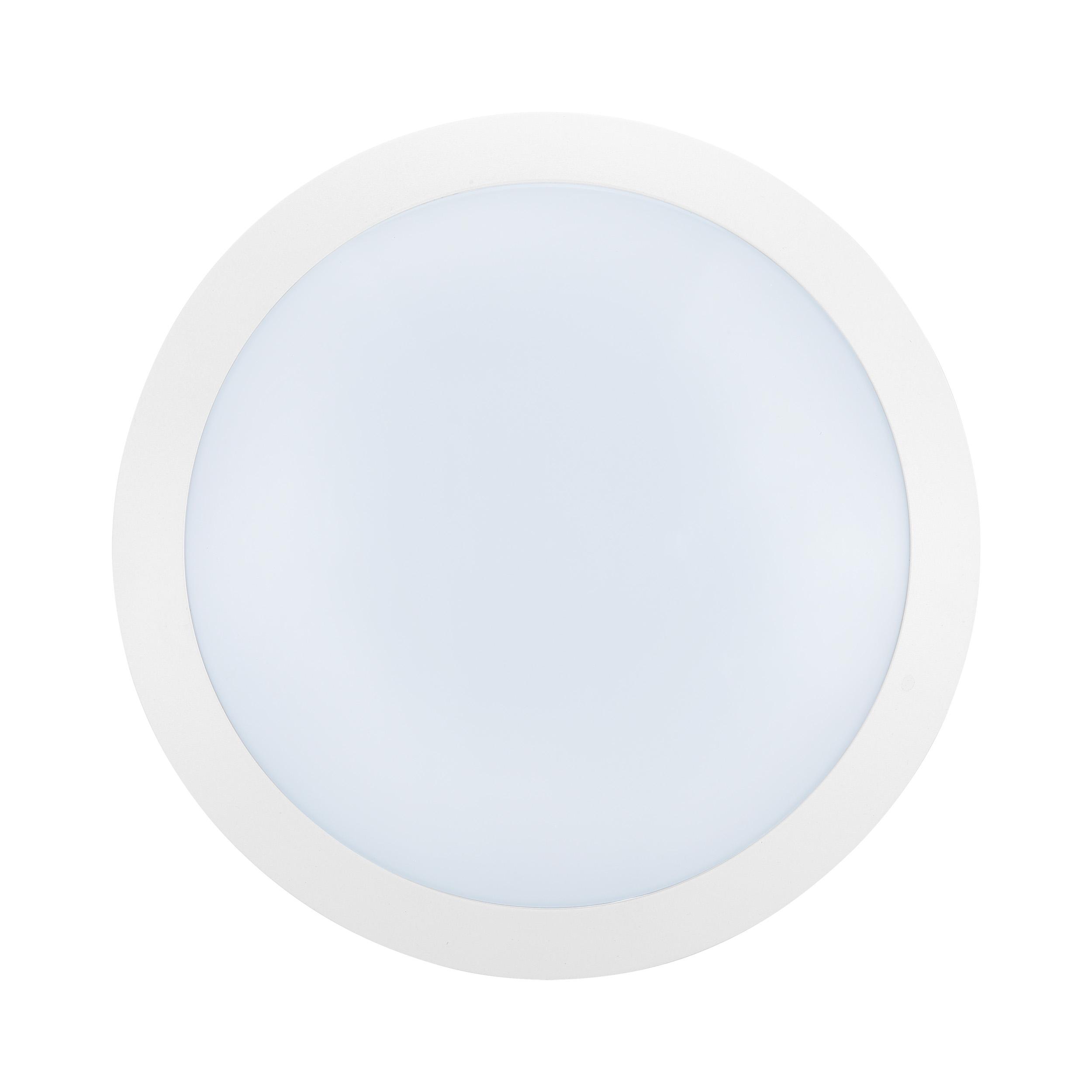 1 Stk Bellaria Wandaufbauleuchte rund 12W 3000K weiß IP66 LI62219---