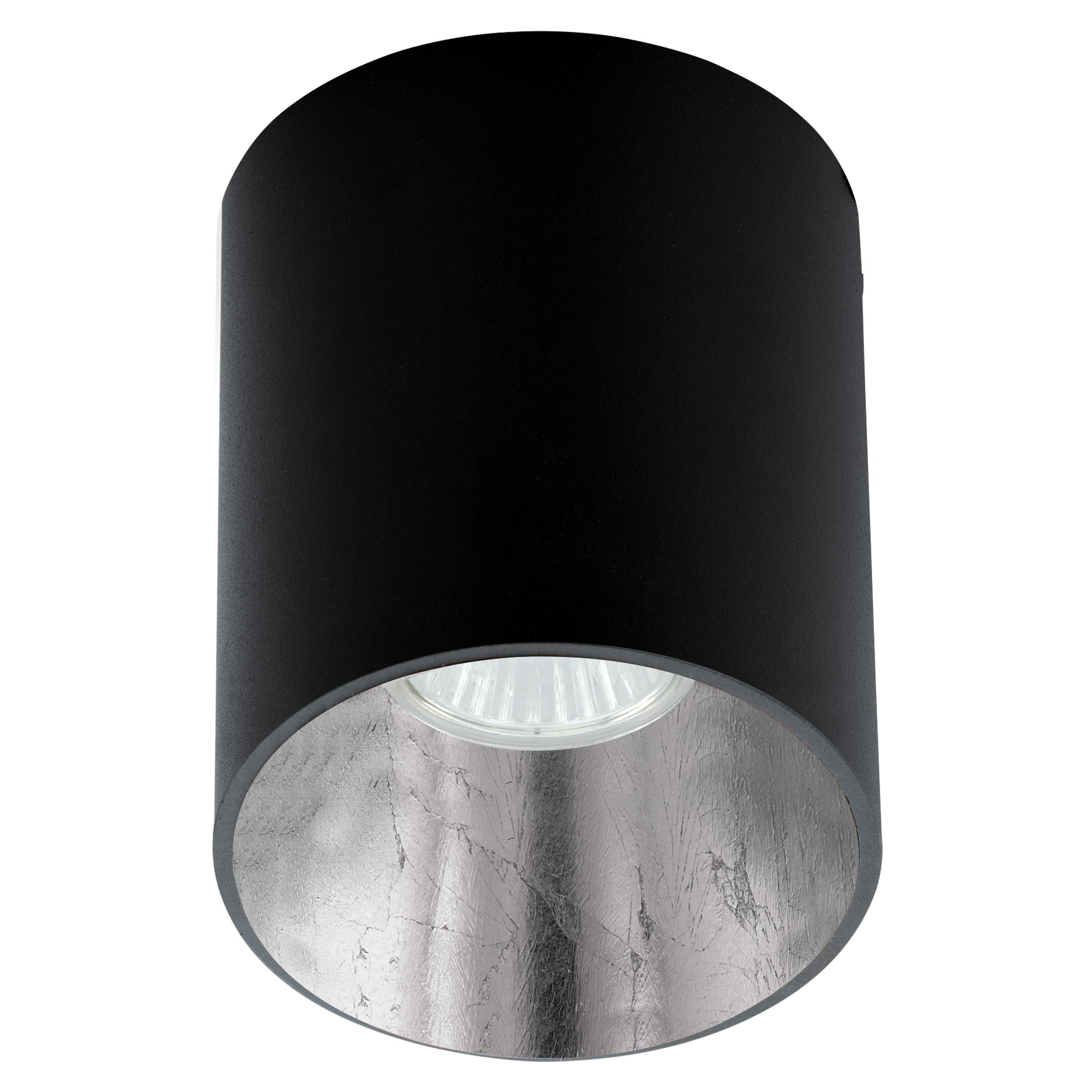 1 Stk Deckenleuchte Polasso rund 35W schwarz / silber IP20 LI62253---