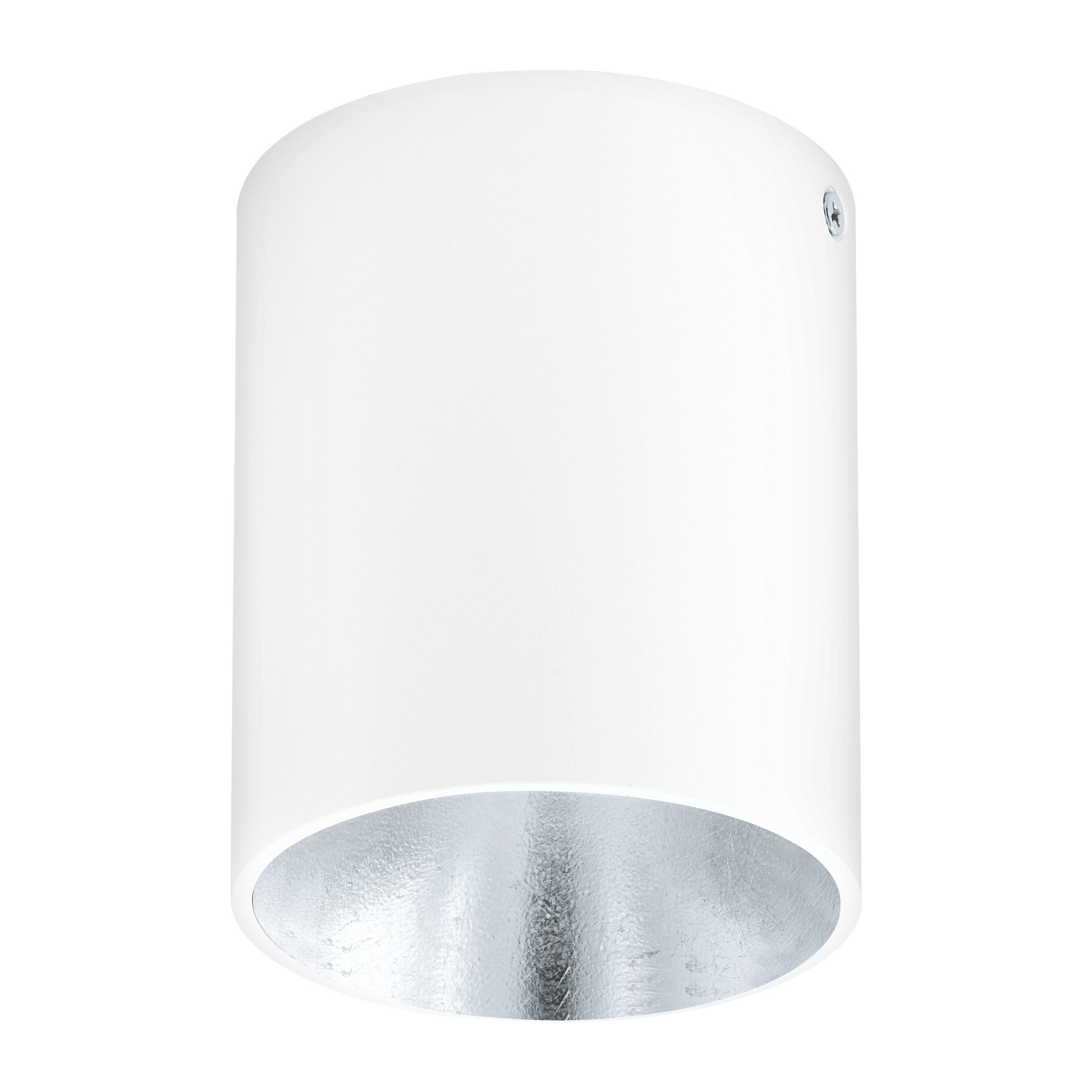 1 Stk Deckenleuchte Polasso rund 35W weiß / silber IP20 LI62256---