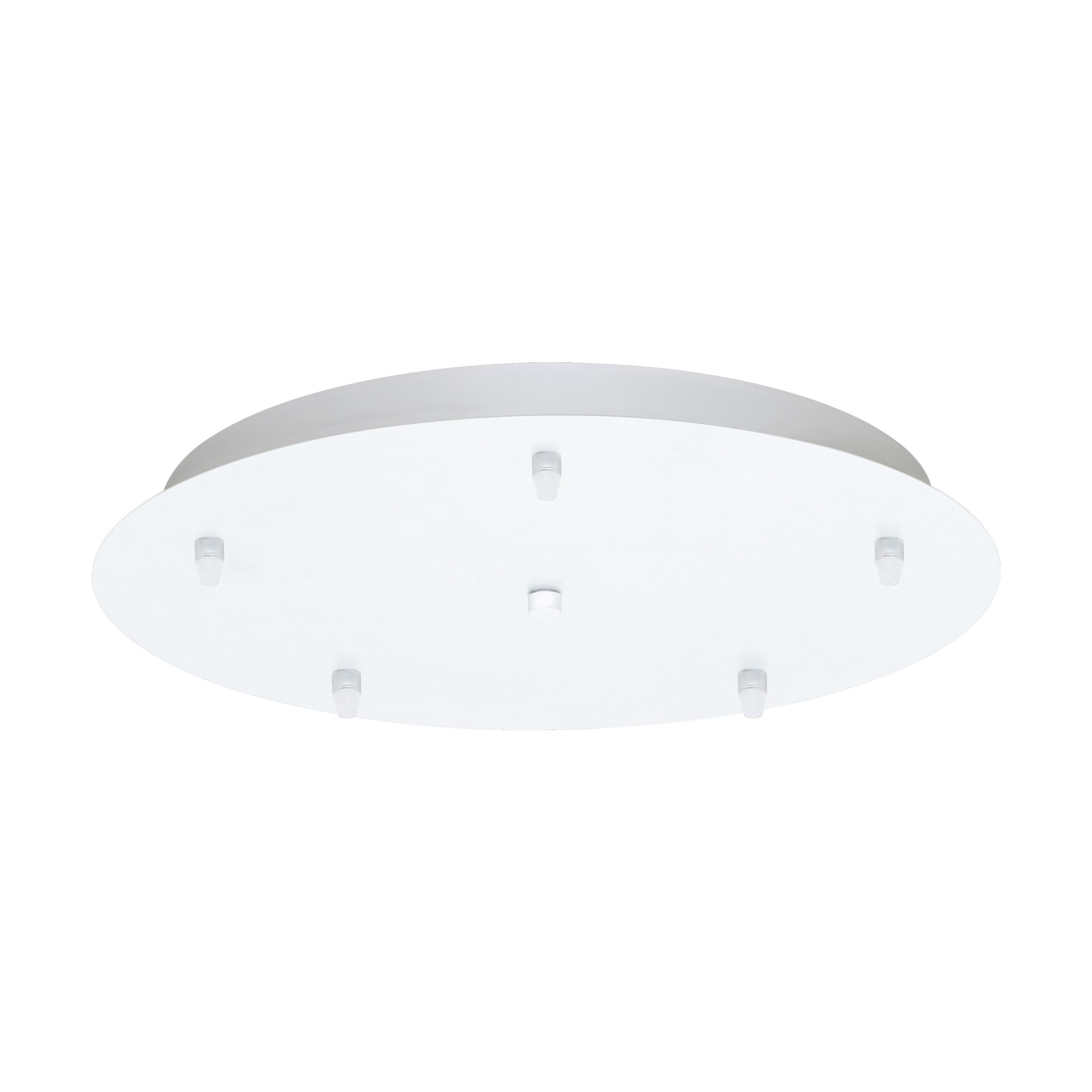 1 Stk Baldachin Pascoa 5 flammig weiß glänzend IP20 LI62316---