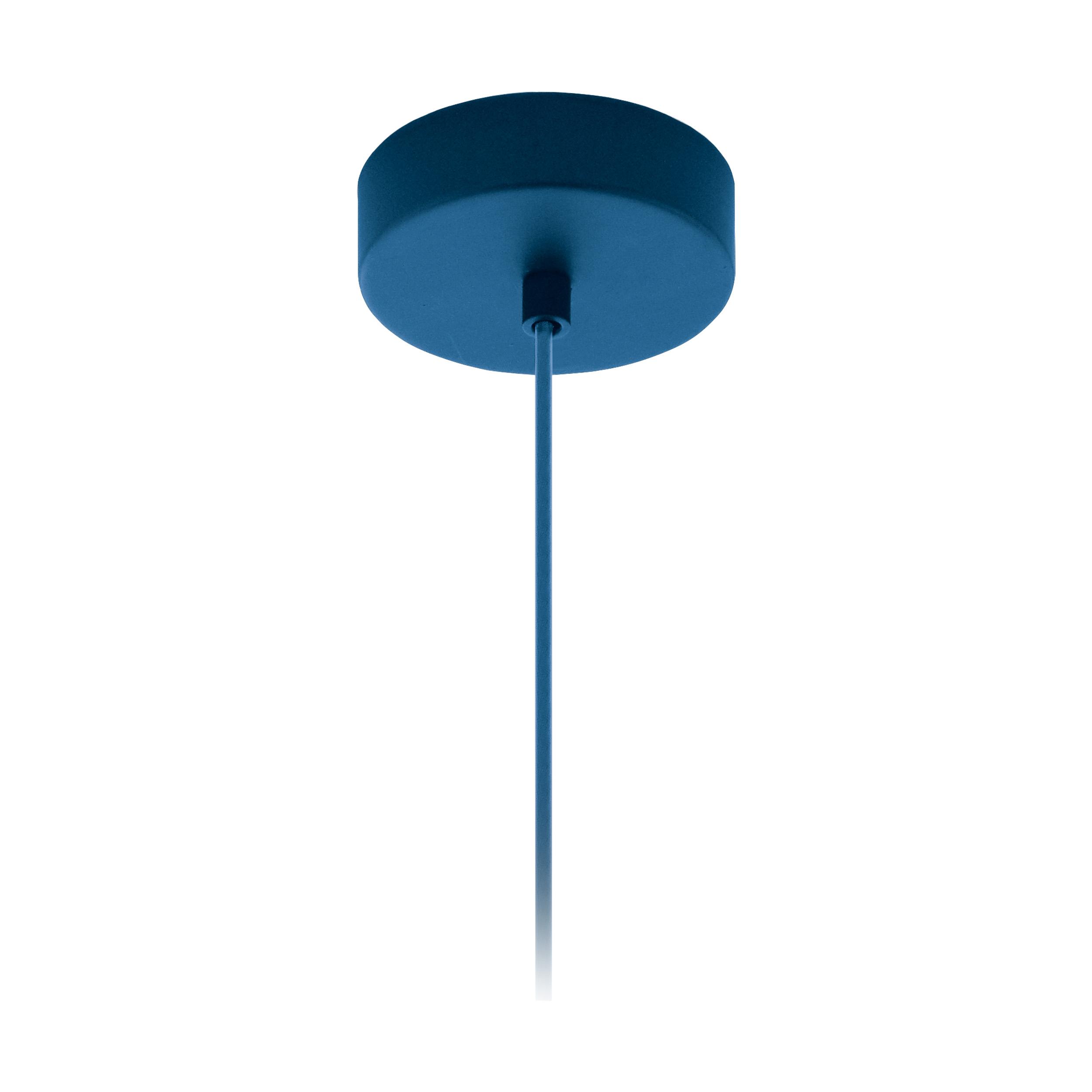 1 Stk Baldachin 1-fach, Aufbau enzianblau (RAL 5010)  LI62764---