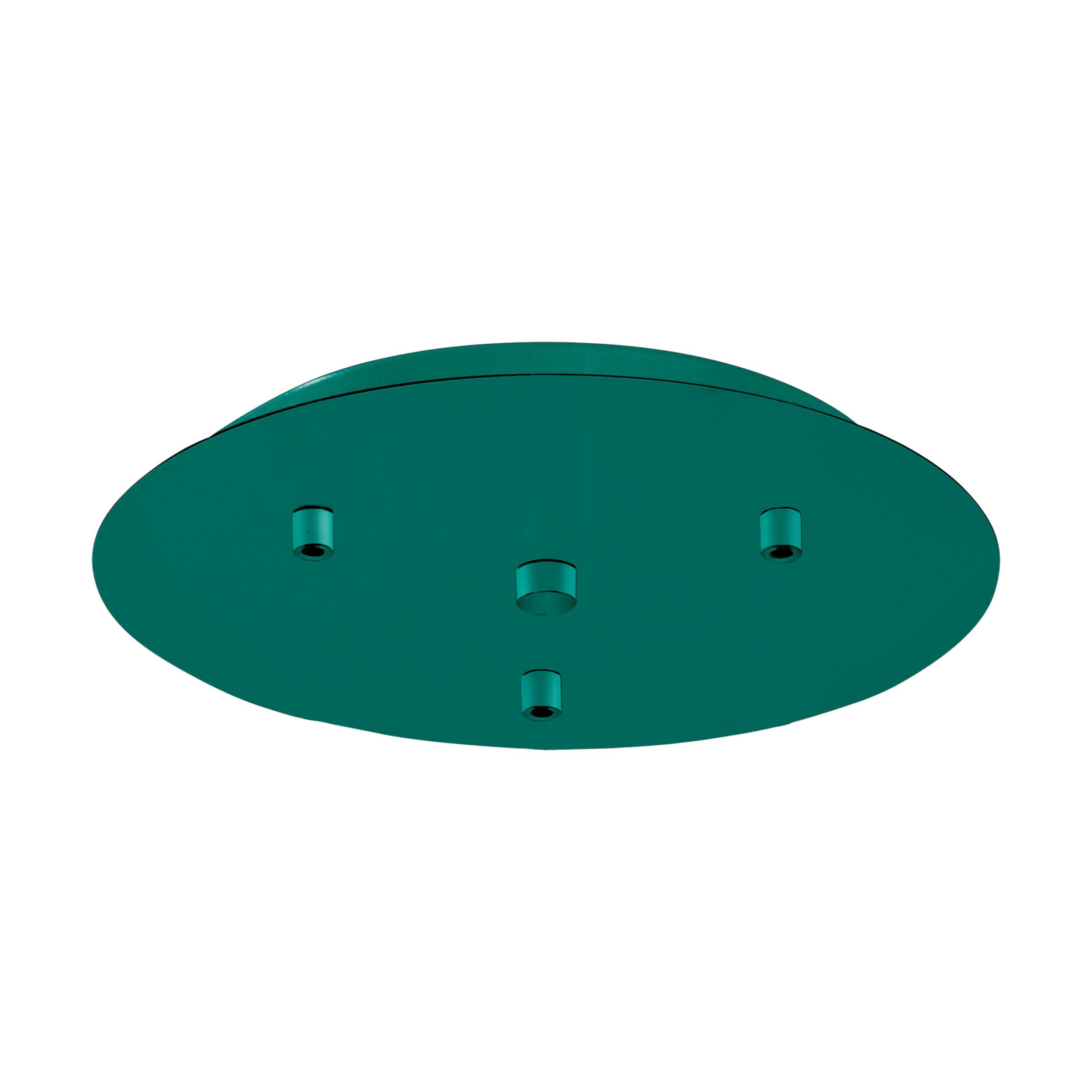 1 Stk Baldachin 3-fach, Aufbau opalgrün (RAL 6026) LI62771---