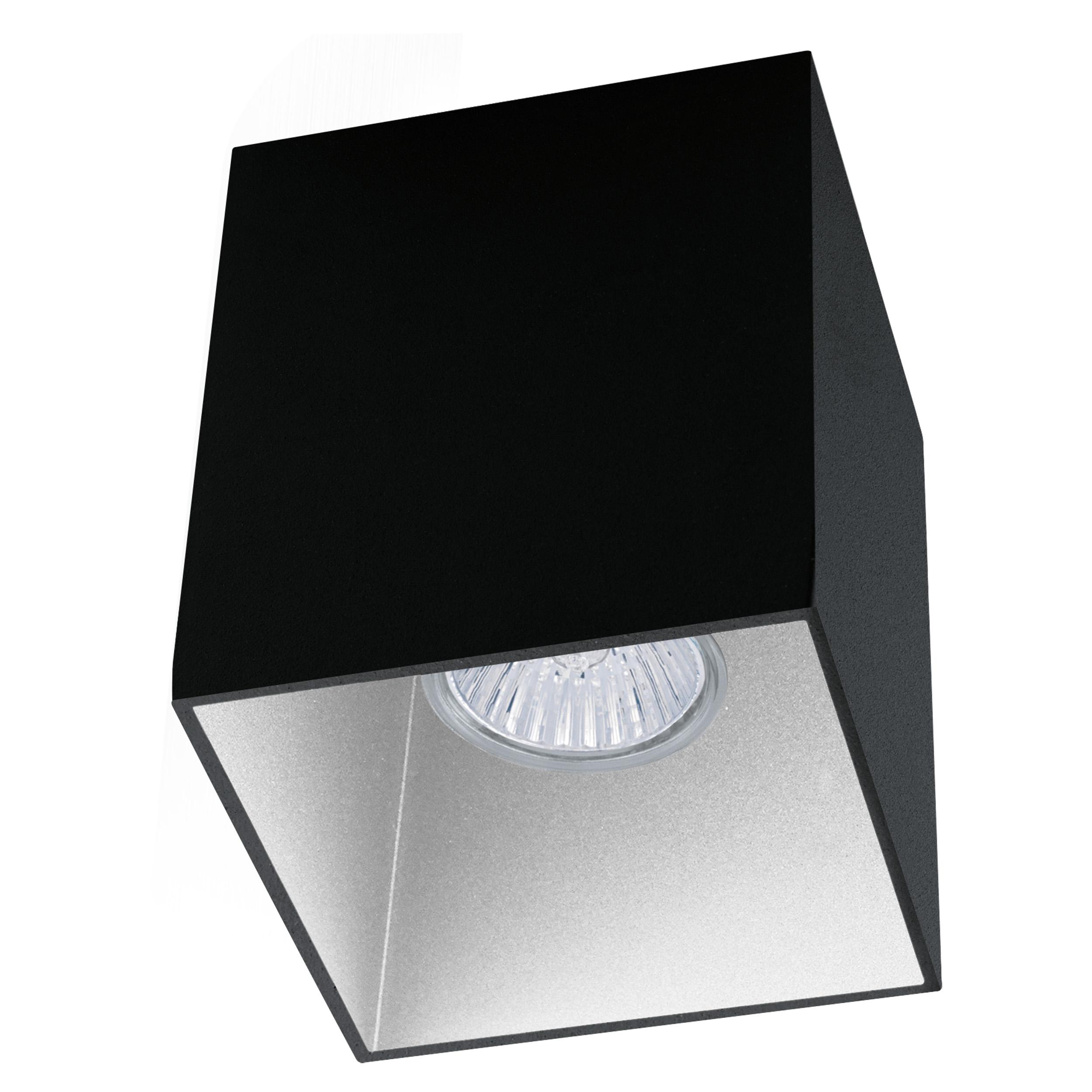 1 Stk Deckenleuchte Polasso Pro eckig 35W schwarz /weiss IP20 LI63193---