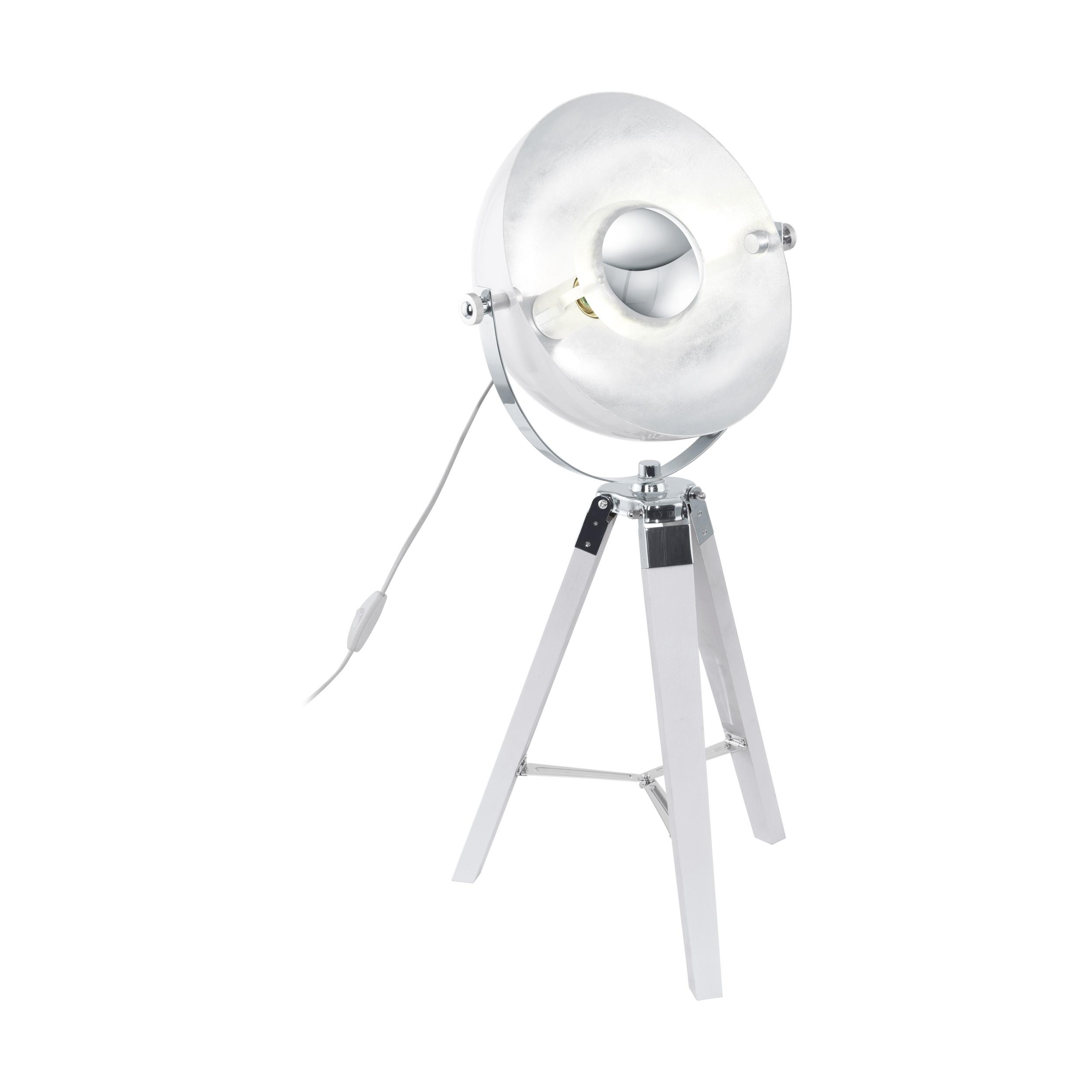 1 Stk Covaleda E27 60W weiss/chrom/silber IP20 LI64961---