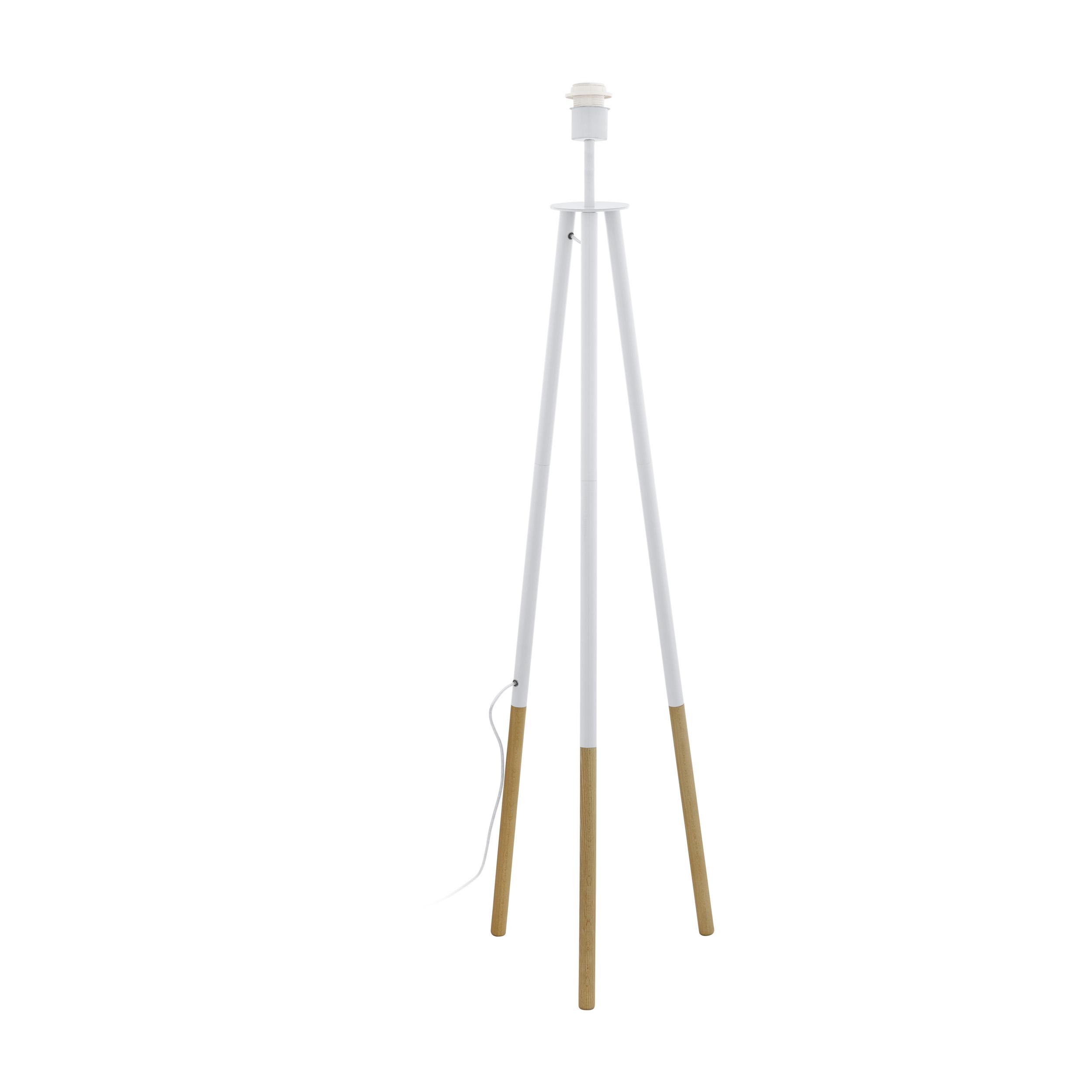 1 Stk Bidford E27 60W Holz weiss/braun IP20 LI64995---