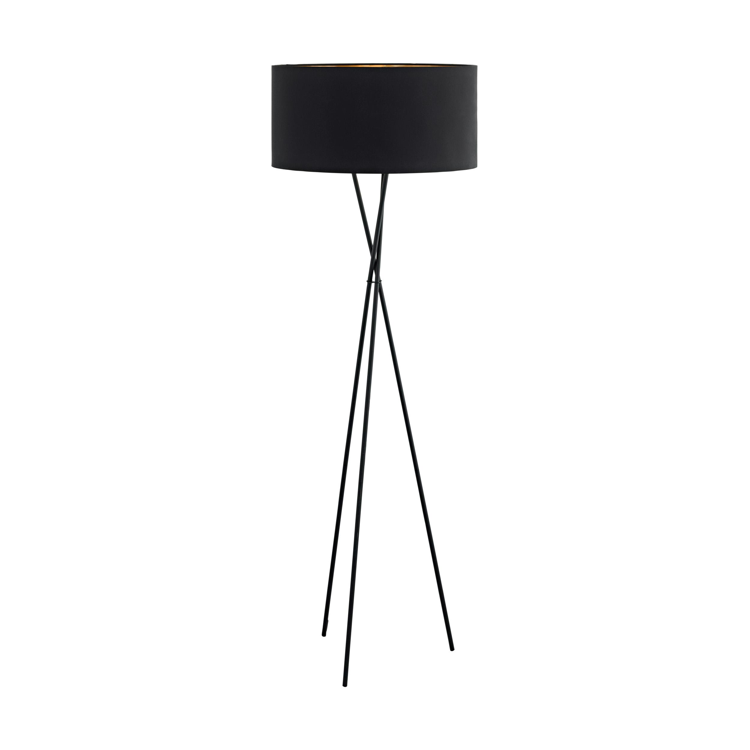 1 Stk Fondachelli E27 60W schwarz/schwarz-kupfer IP20 LI65017---