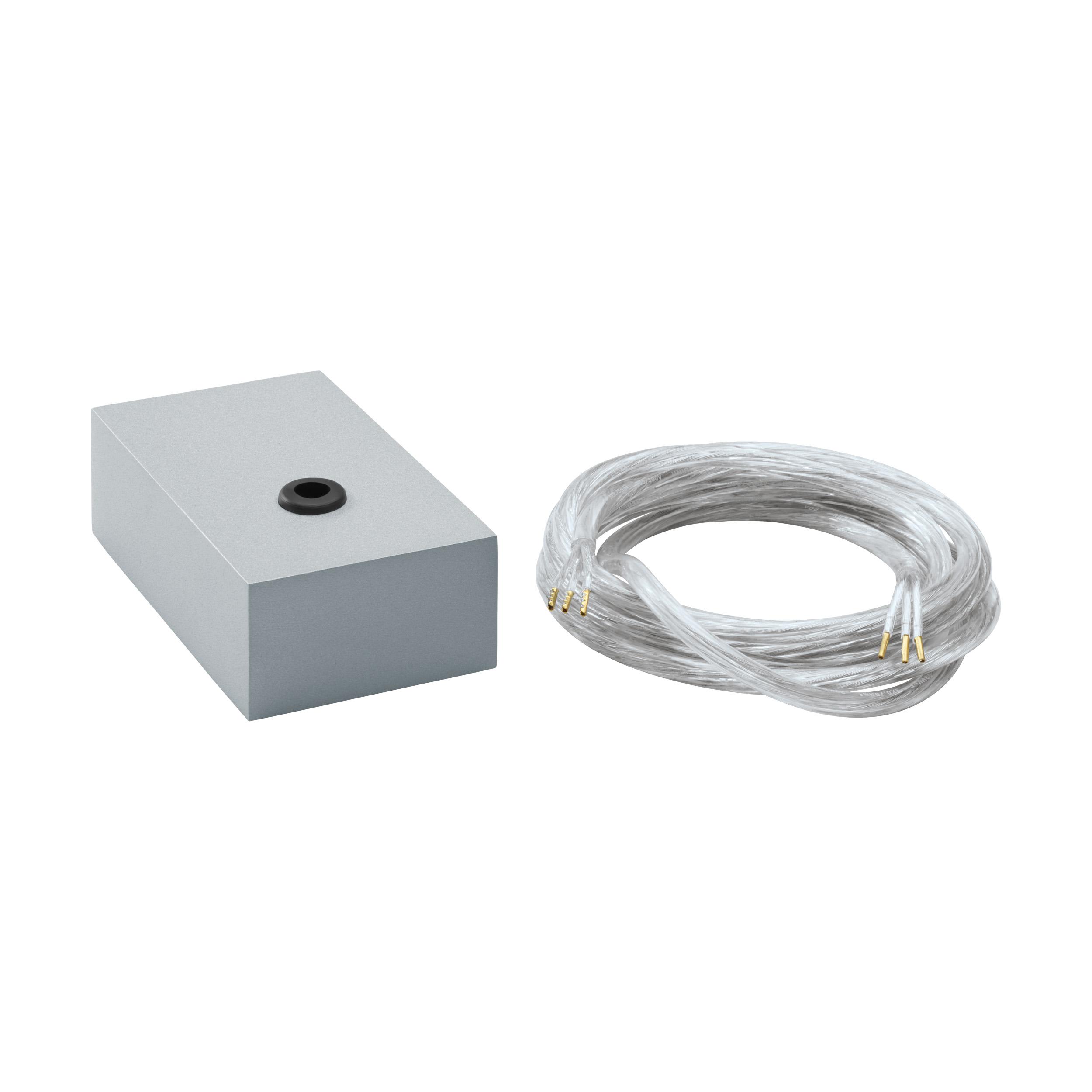 1 Stk Einspeisung 5 polig Aluminium eloxiert IP20 LI65121---