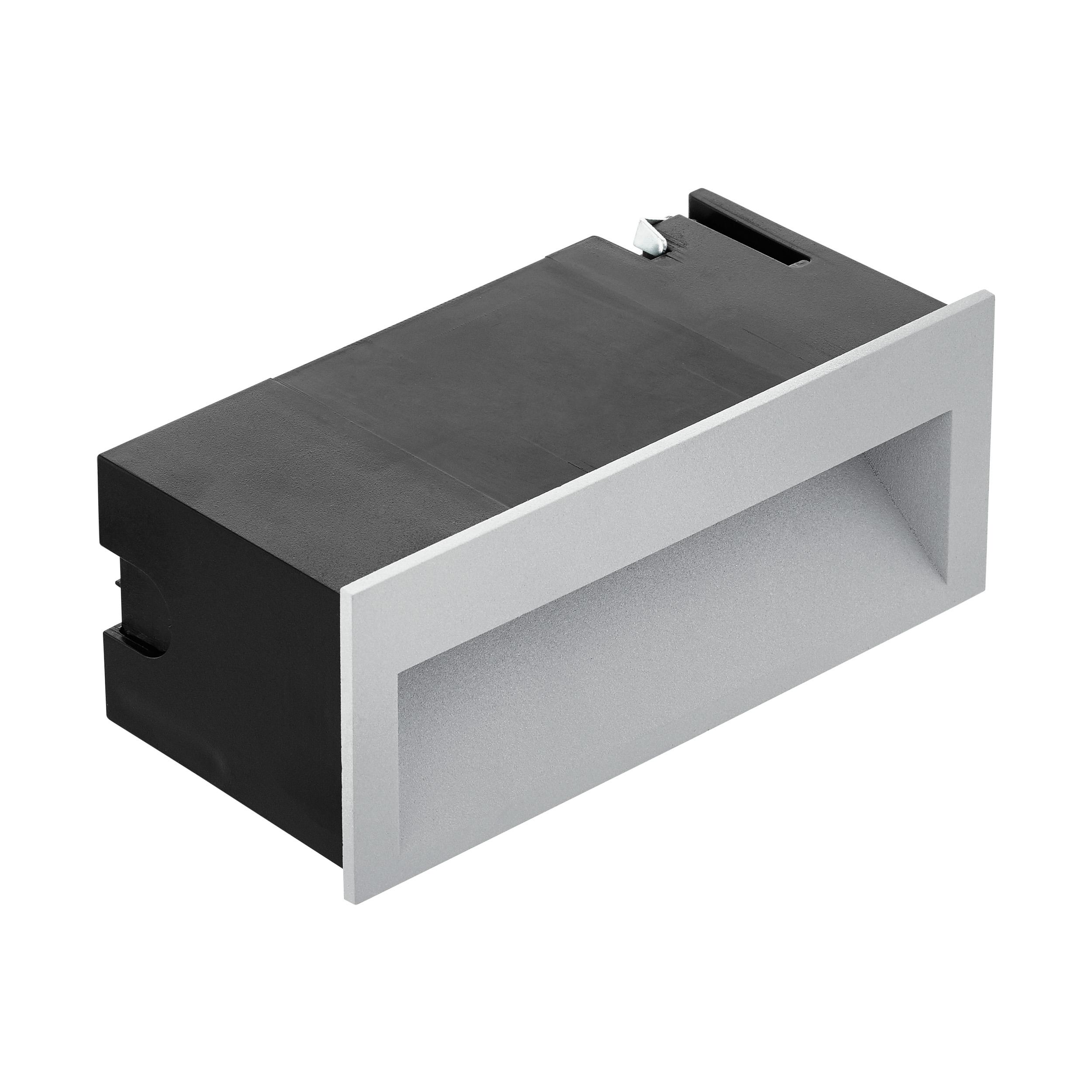 1 Stk Zimba Pro 4W 3000K silbergrau IP65 LI66268---
