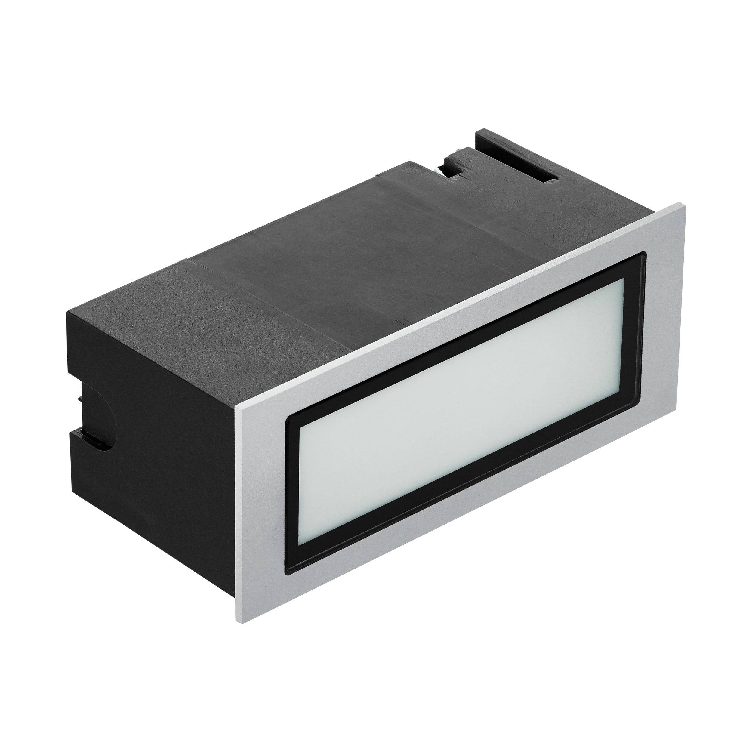 1 Stk Zimba Pro 4W 3000K silbergrau IP65 LI66269---