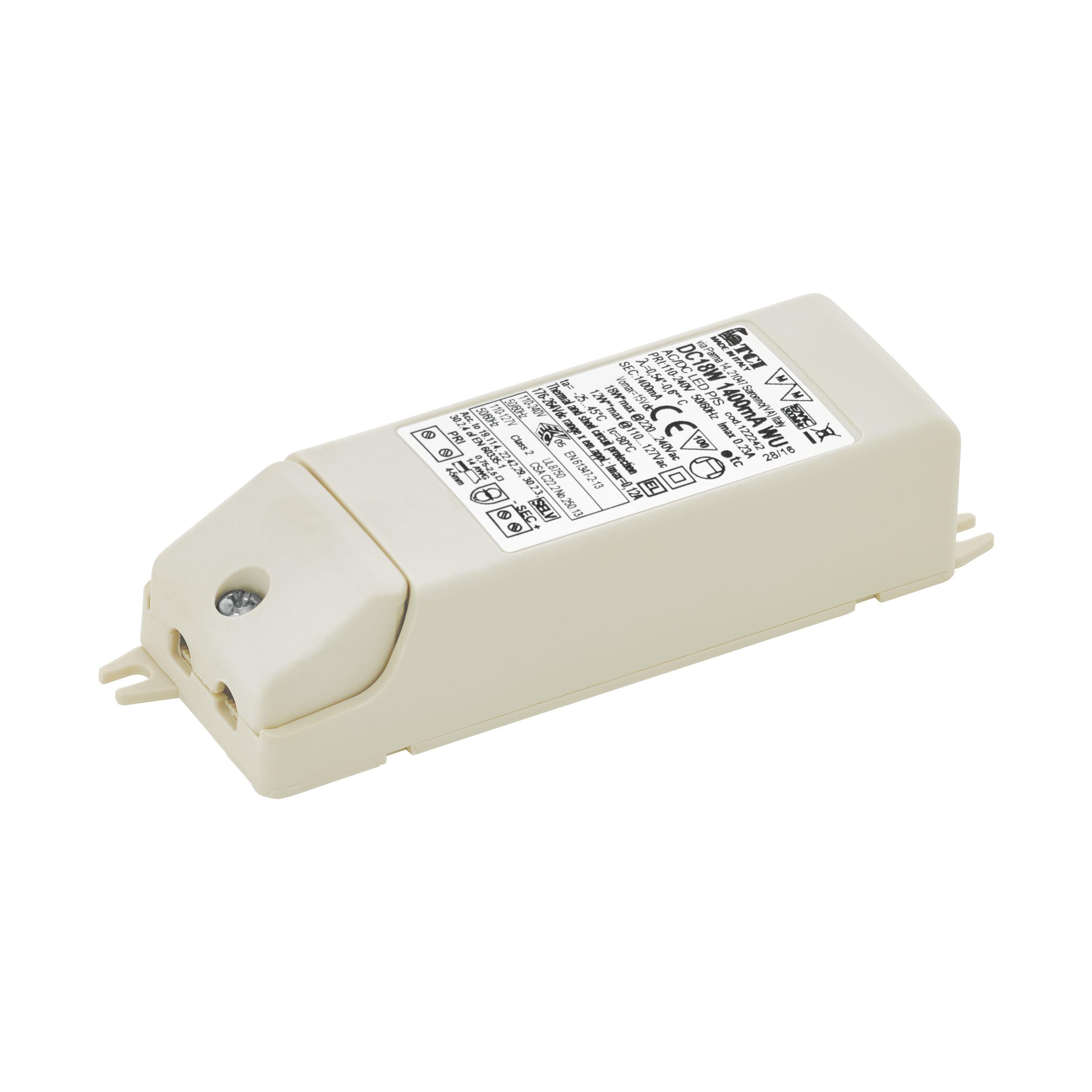 1 Stk LED-TREIBER TCI DC 18W 1400MA WU LI69254---