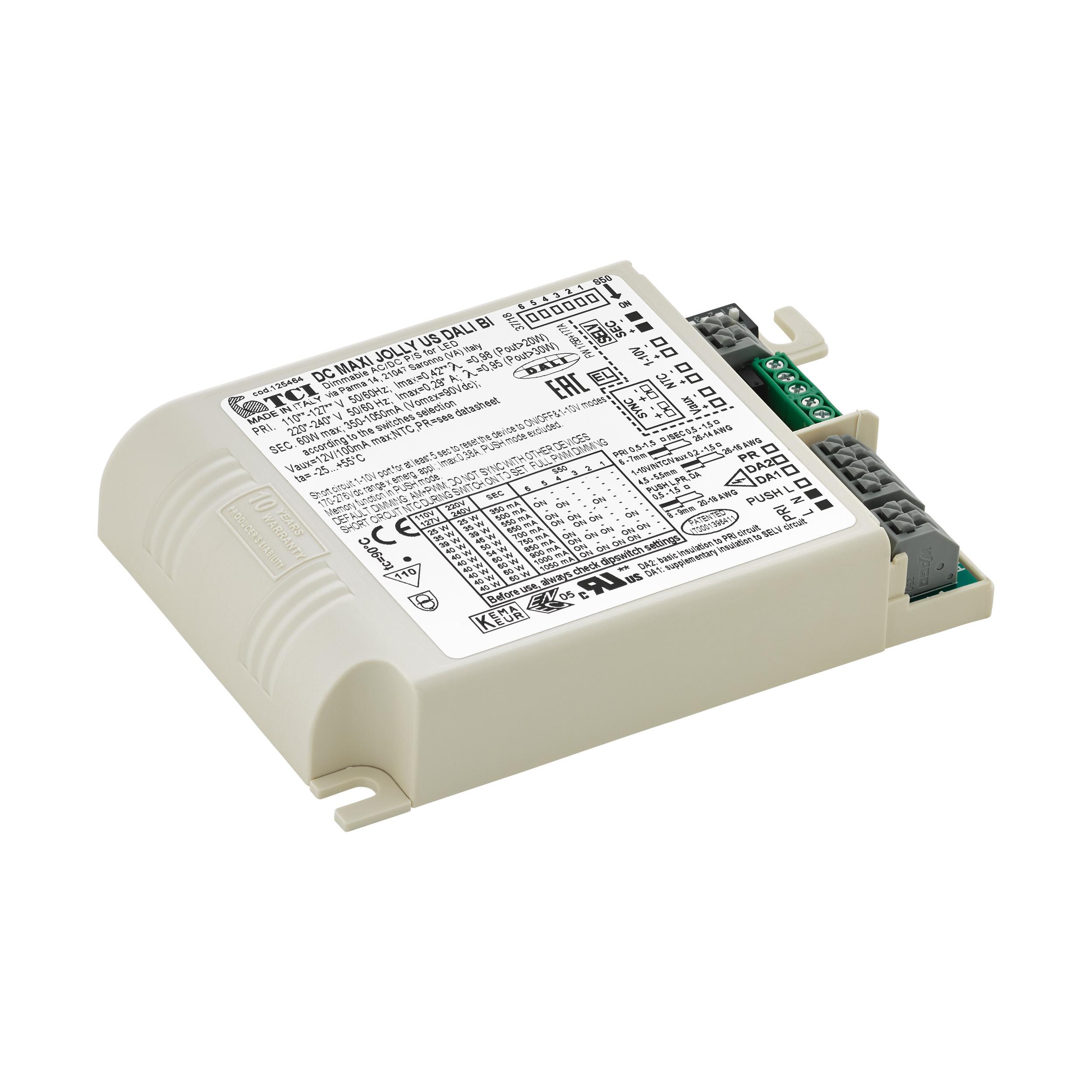 1 Stk LED-TREIBER TCI DC MAXI JOLLY USDALI 60BI LI69262---