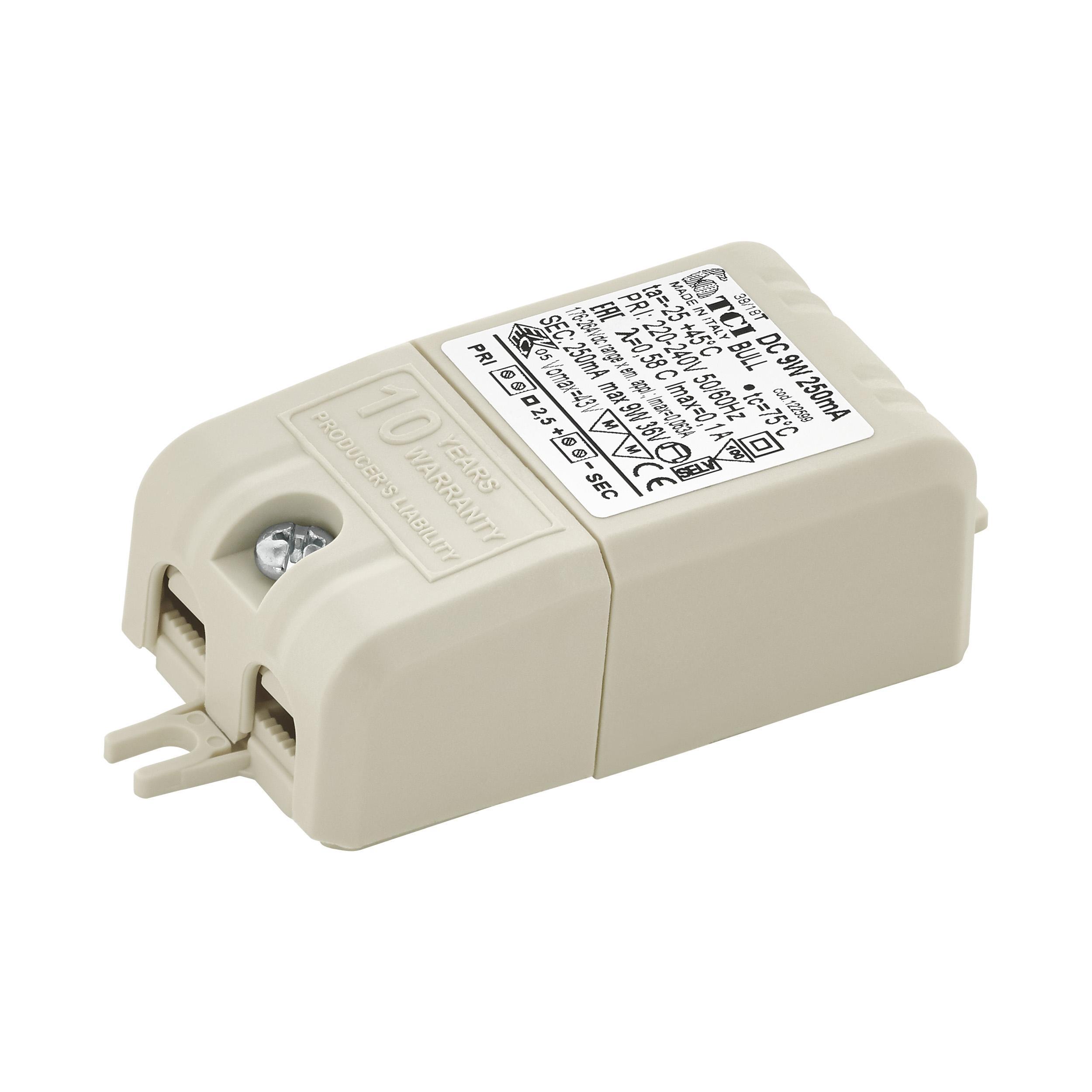 1 Stk LED-TREIBER TCI BULL DC 9W 250MA LI69264---