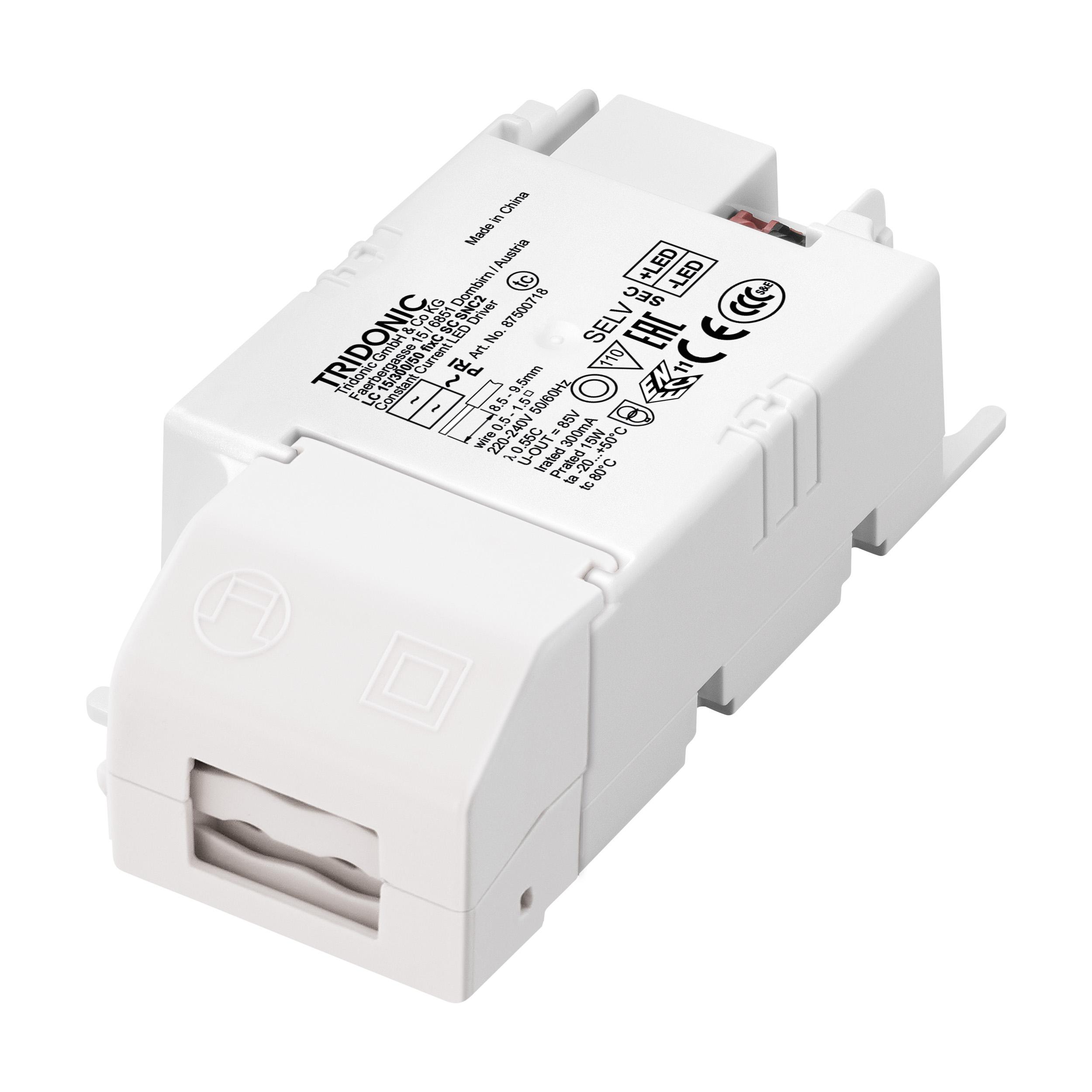 1 Stk LED-TREIBER TRIDONIC LC15W 350MA FIXC SCADV LI69271---