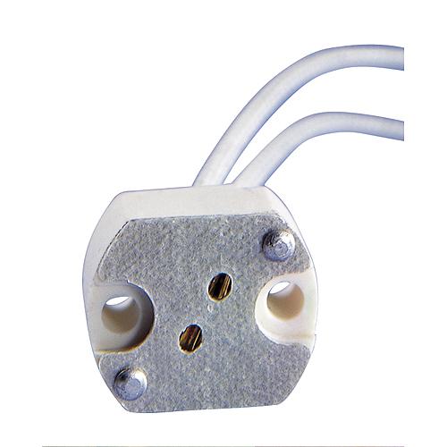 1 Stk Niedervoltfassung G6, mit 15cm Anschlussleitung LI955000--