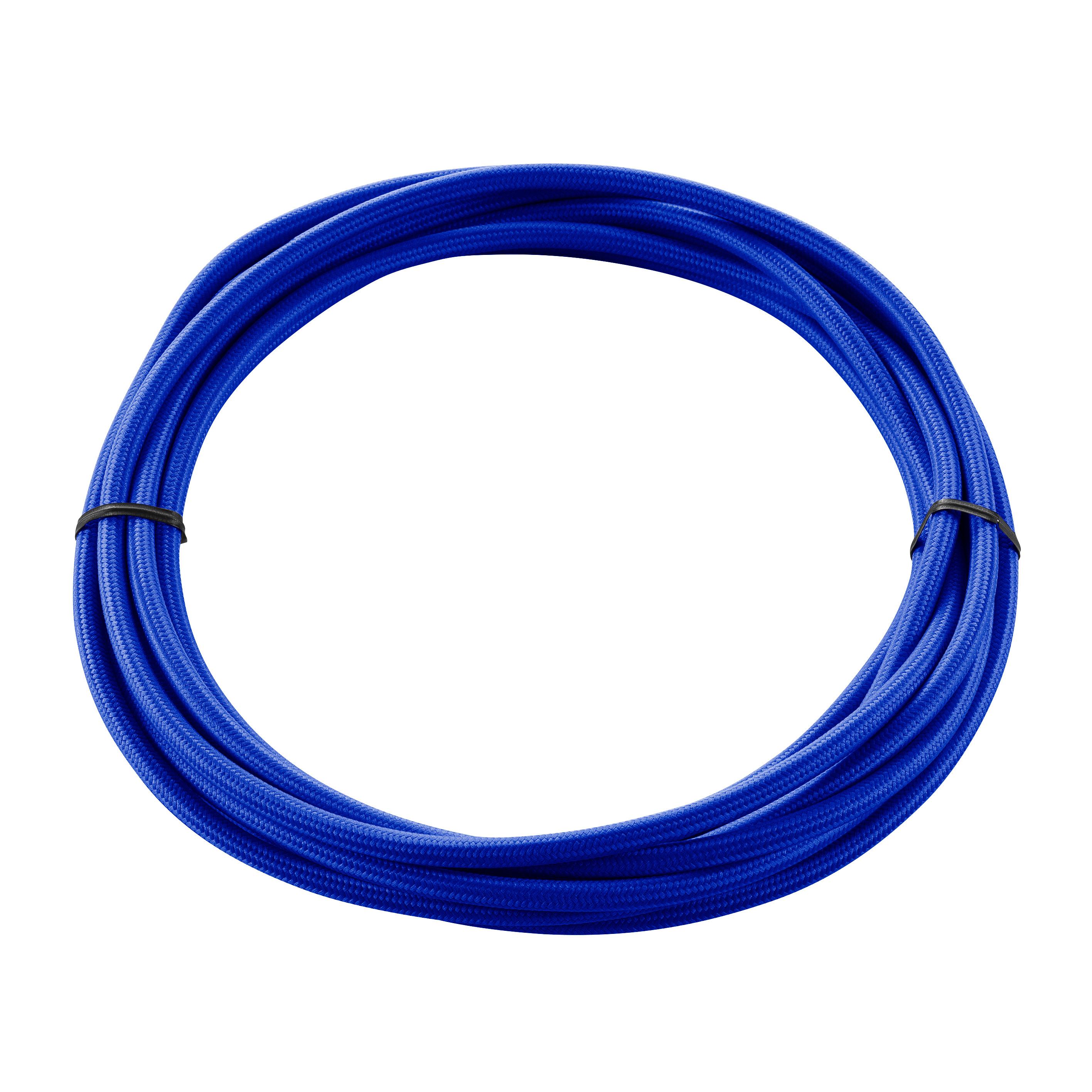 1 Stk TEXTILKABEL, 3-polig, 5 m, blau LI961373--