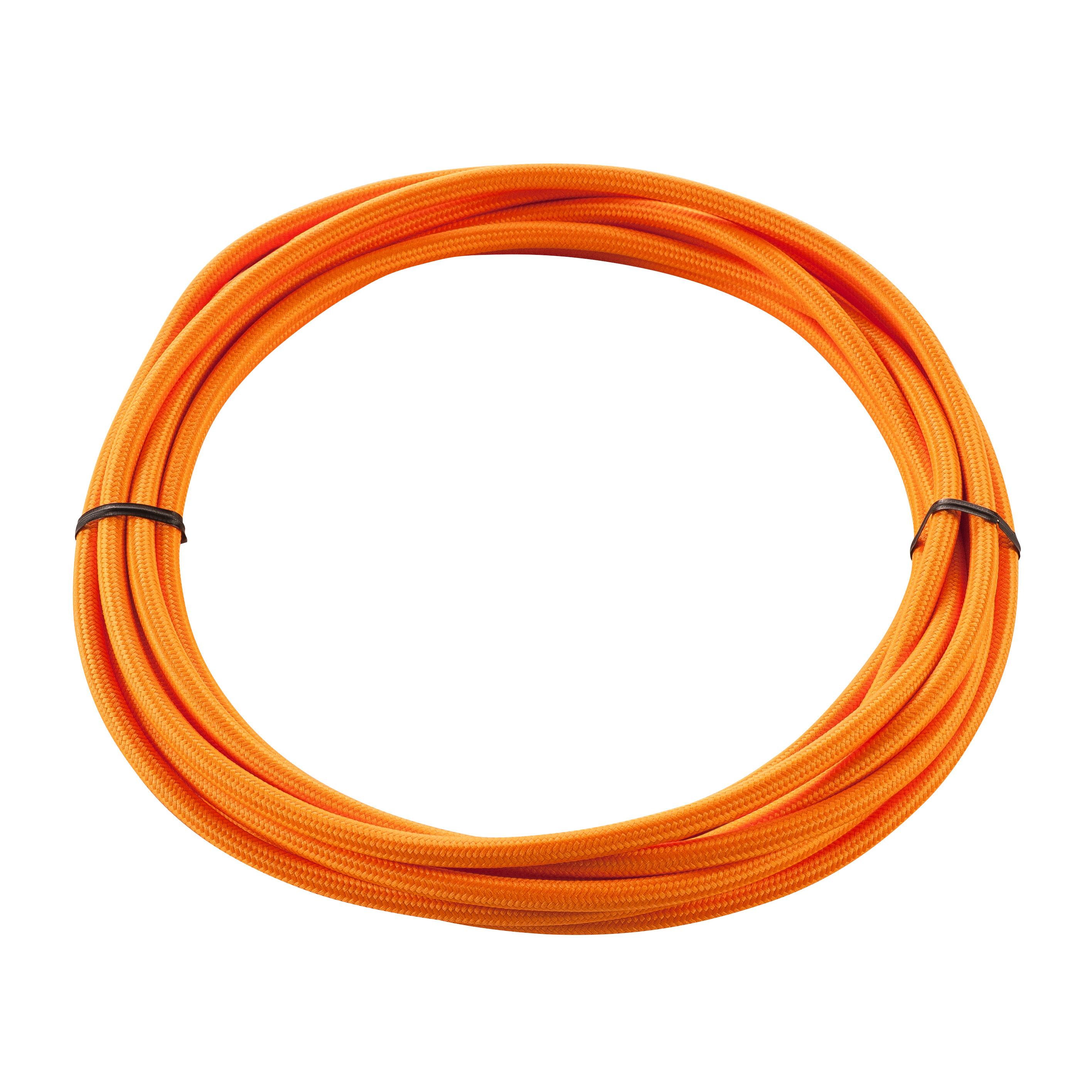 1 Stk TEXTILKABEL, 3-polig, 5 m, orange LI961374--