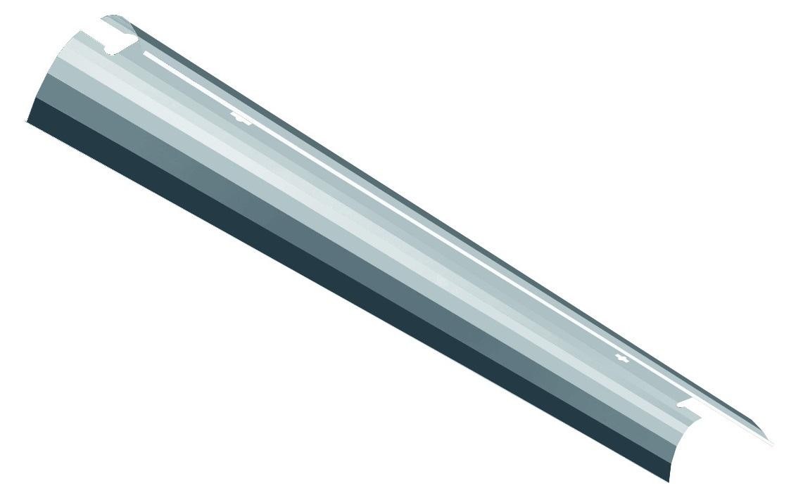 L-SE Reflector R12 T5 AL 35-80W Tiefstrahlend, aluminium