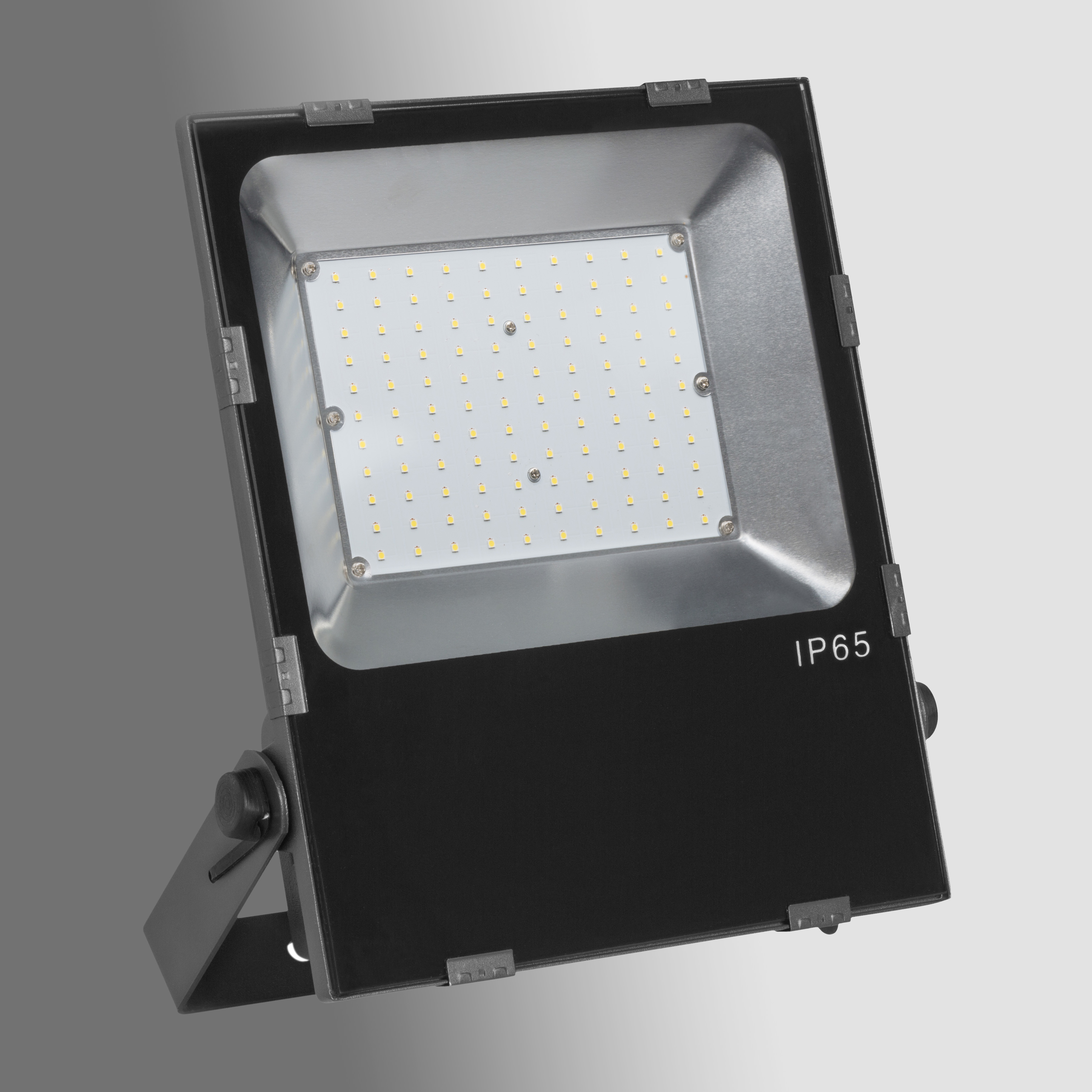 1 Stk CAPRI LED SYM 50W 5000K, 6600lm, Ra>70, IP65, EVG, schwarz LI99001717