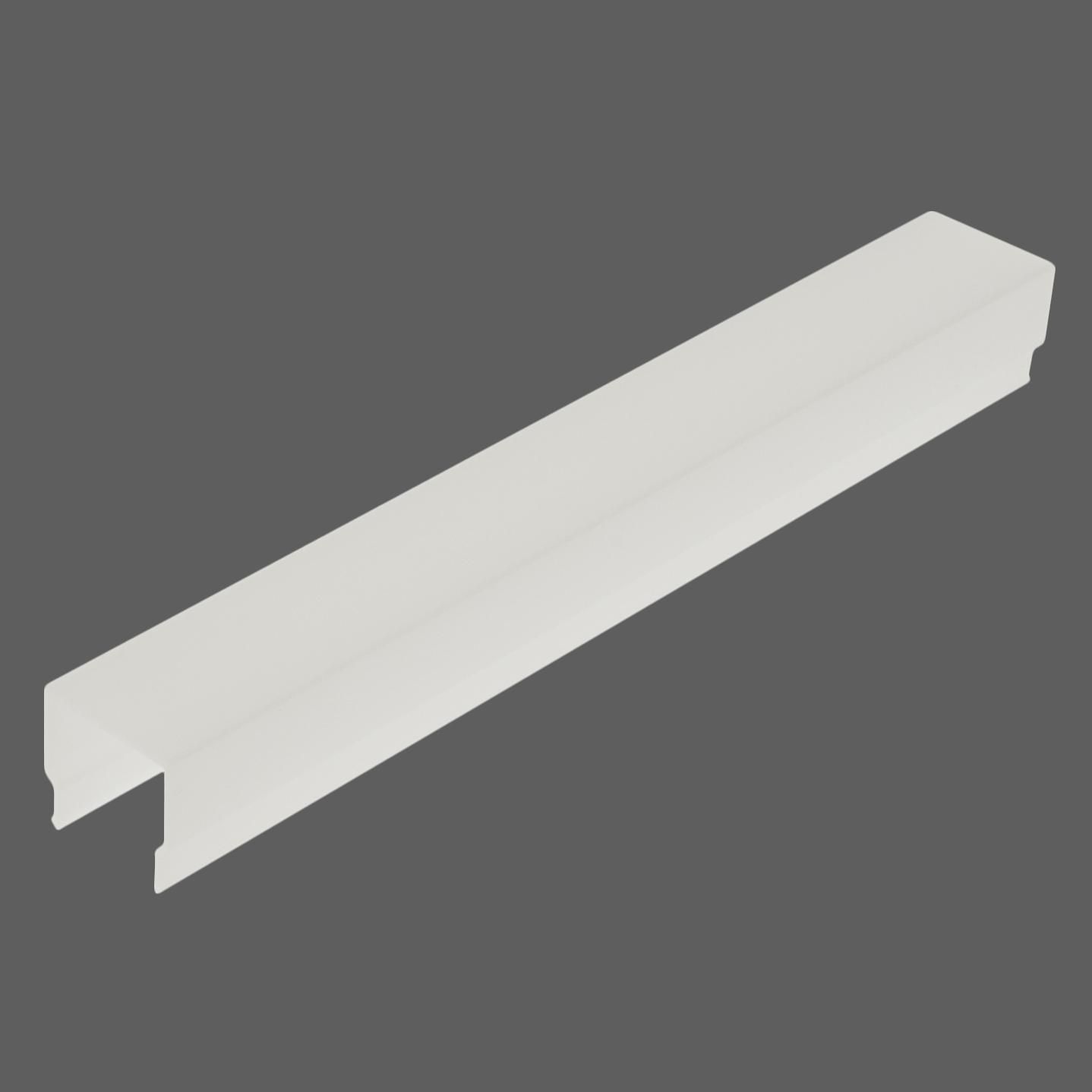 1 m PMMA Abdeckung LB Eckig / Opal 2m LIAB001009