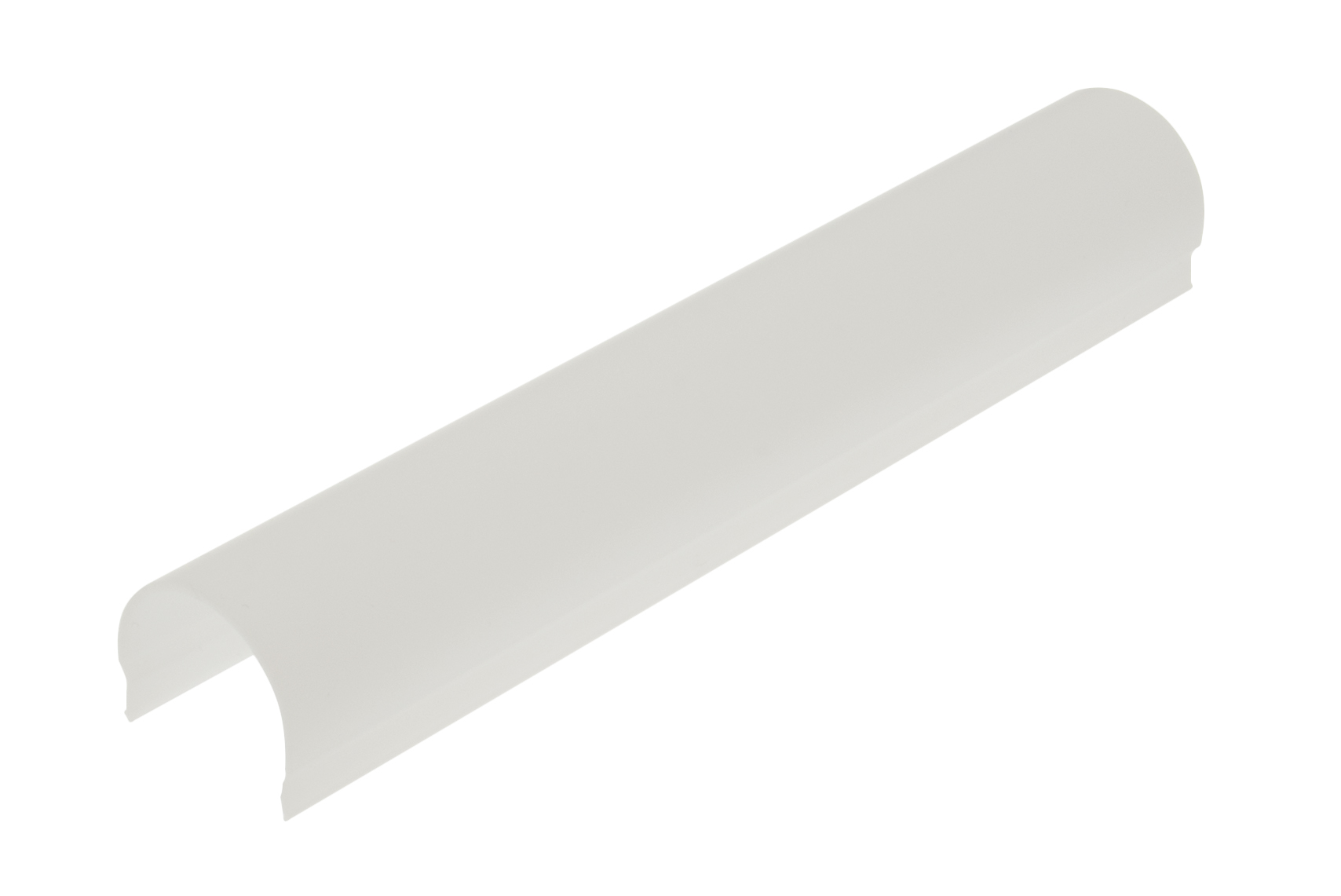 1 m PMMA Abdeckung TB rund opal - L-2000mm B-25mm H-21mm LIAB002006