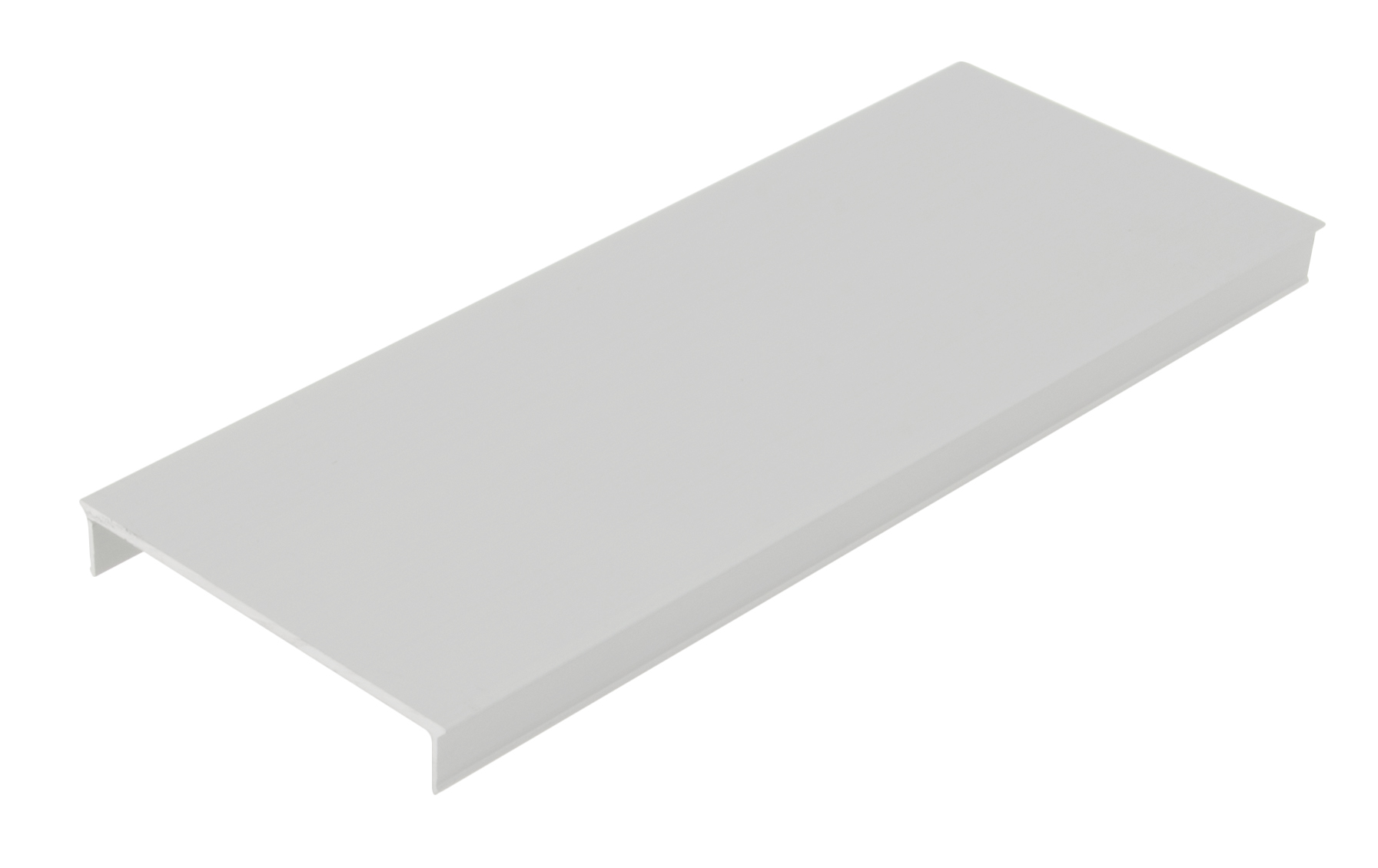 2 m Aluminiumabdeckung SL, L-2000mm B-58,3mm H-9,6mm LIAB003100