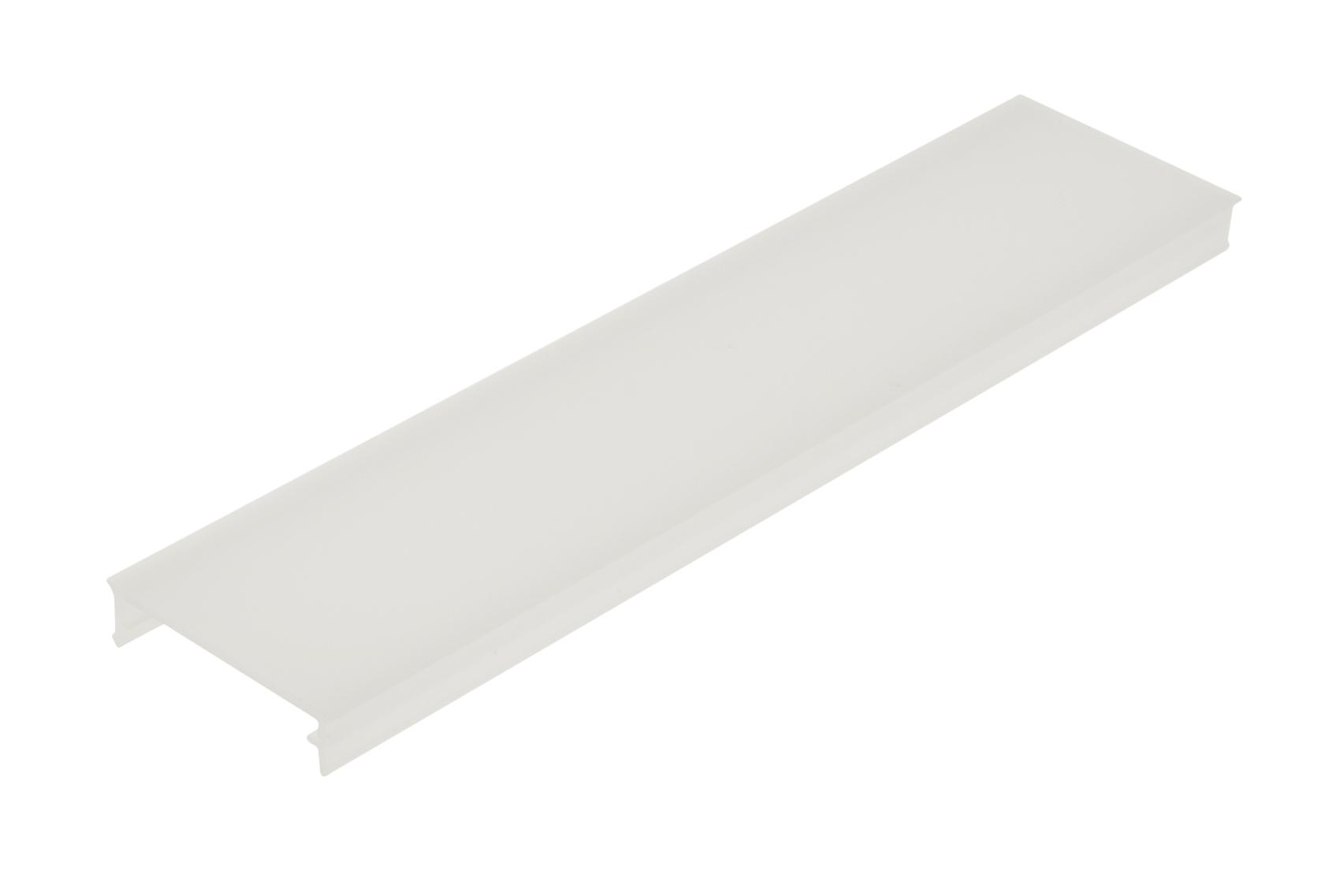 1 m PMMA Abdeckung CL Flach / Opal LIAB006003