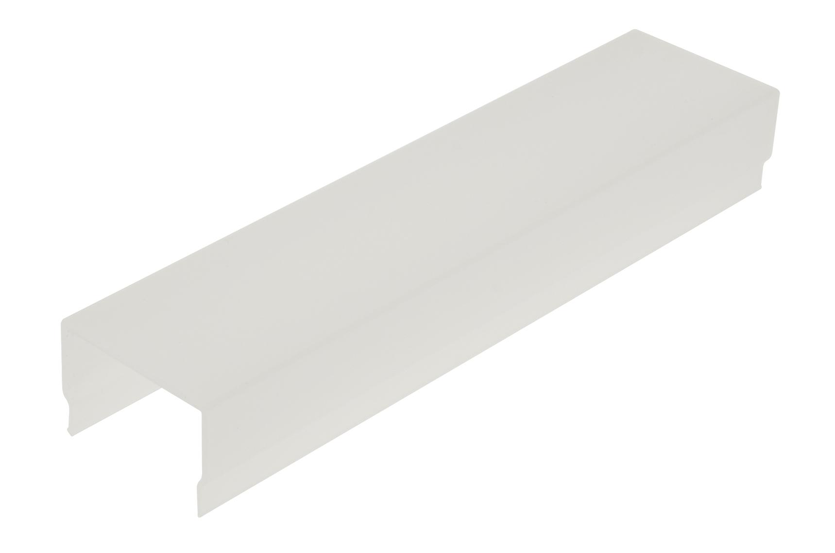 1 m PMMA Abdeckung CL Eckig / Opal LIAB006009