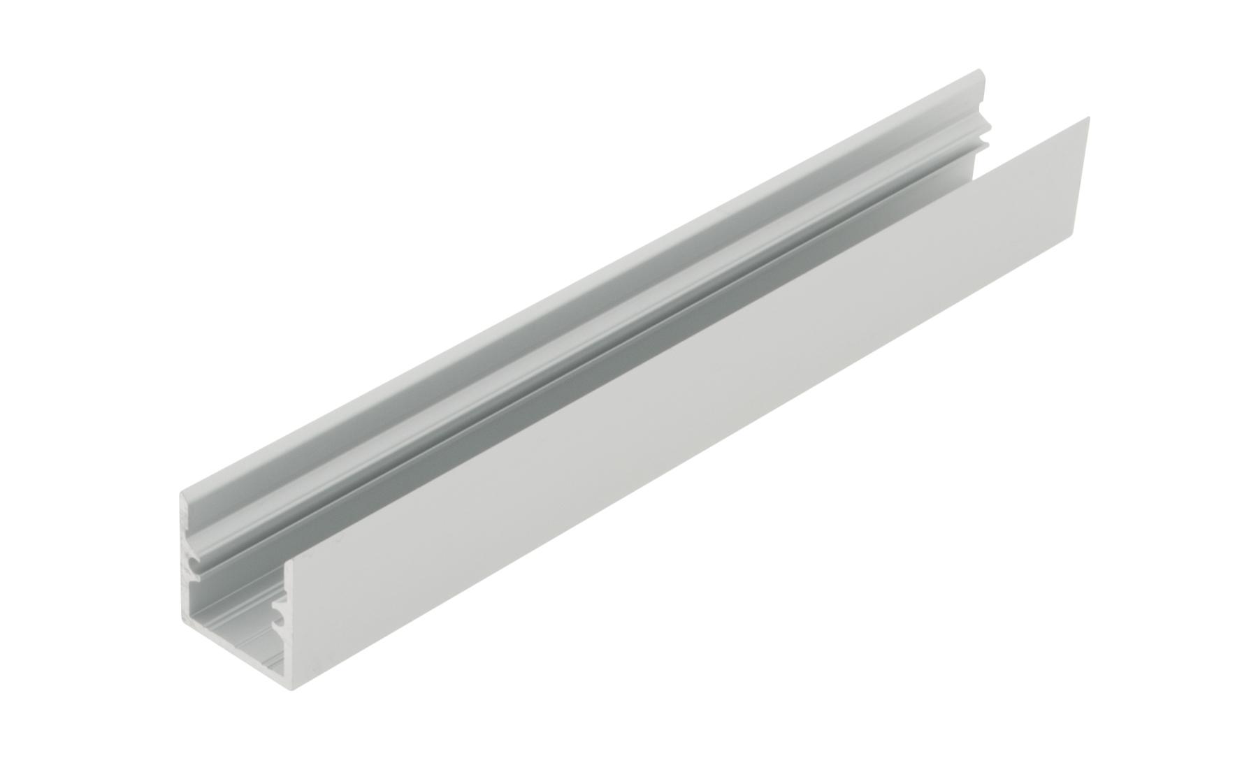 1 m Aluminiumprofil LBR, L-2000mm B-19mm H-19mm LIAP001002