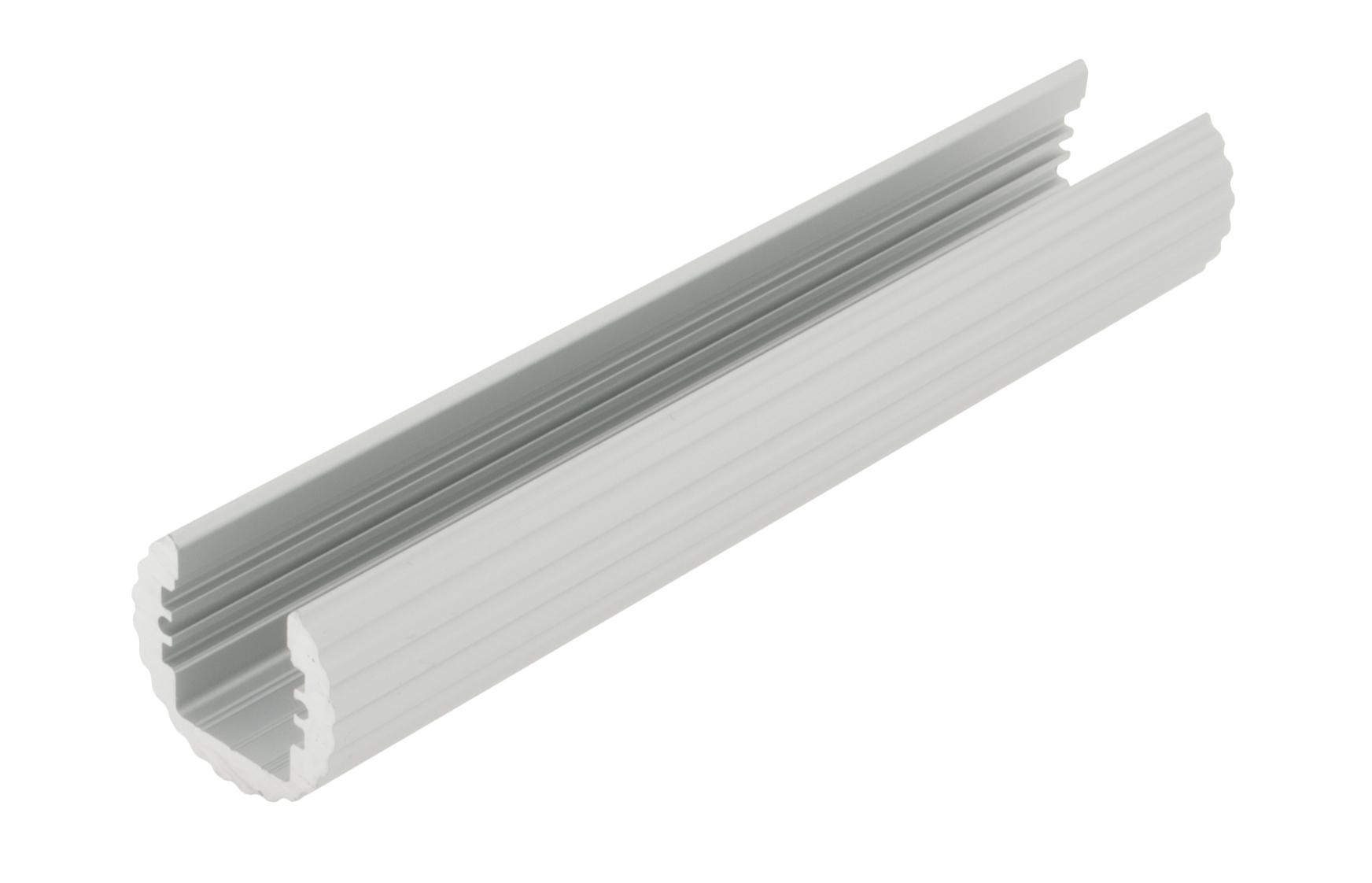 Aluminiumprofil LBS, L=2000mm,  Ø-29,9mm