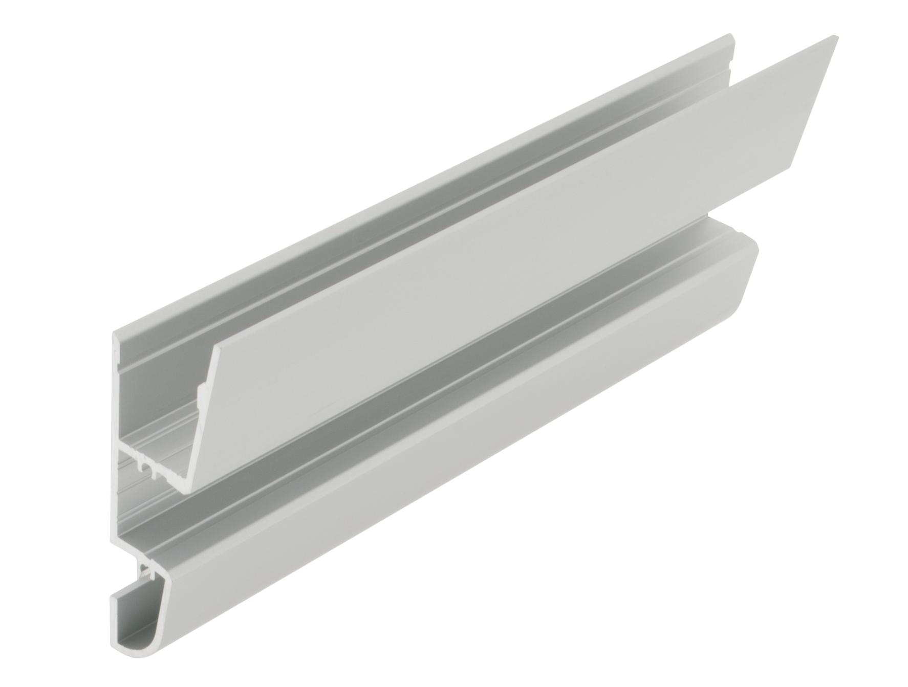 Aluminiumprofil LBV, L-2000mm B-22mm H-65mm