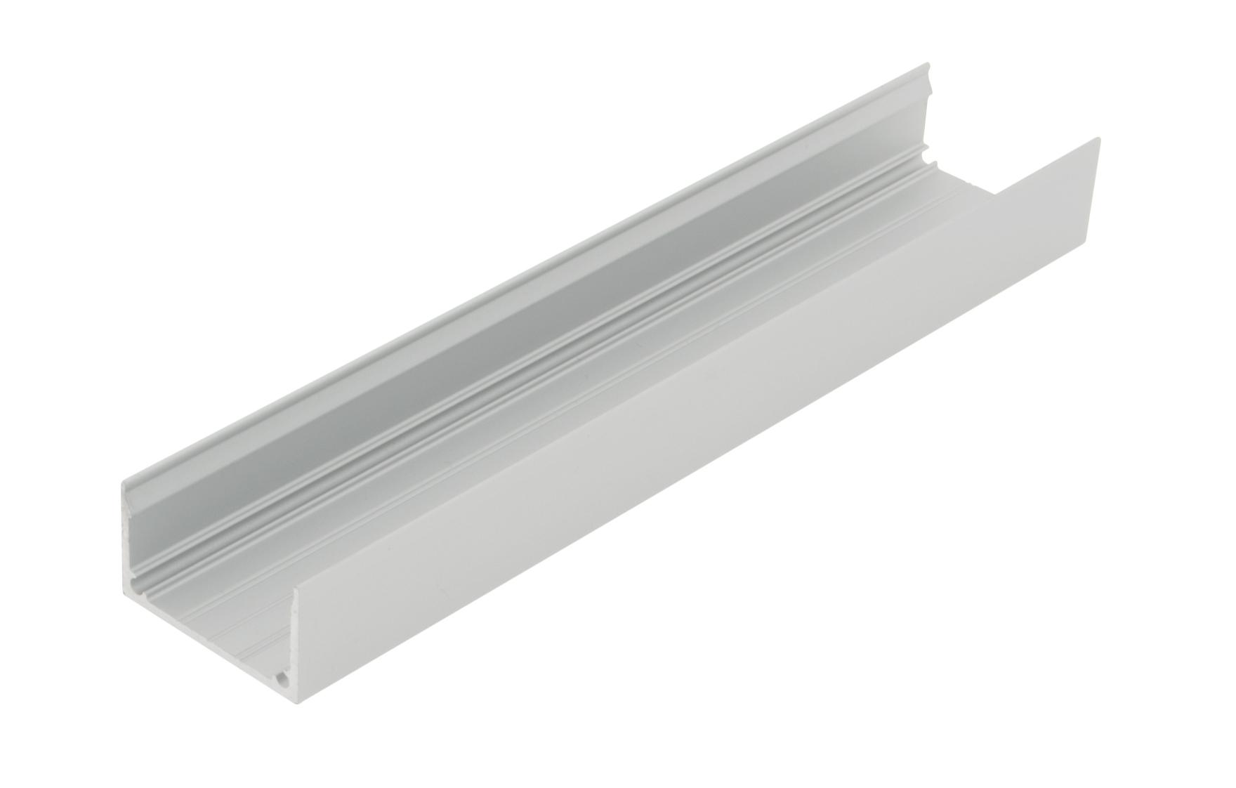 1 m Aluminiumprofil LBK, L-2000mm B-30mm H-16,7mm LIAP001106
