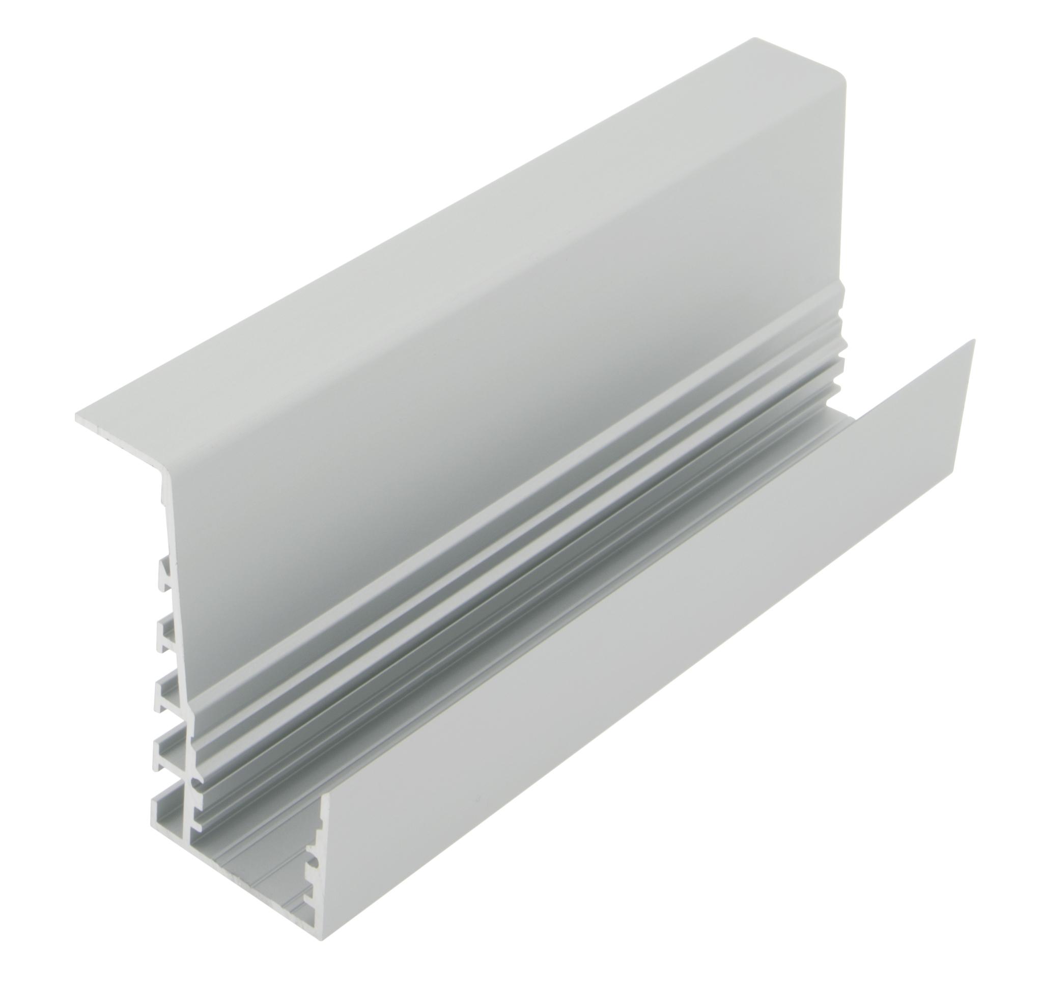 1 m Aluminiumprofil TPB, L-2000mm B-46,5mm H-60mm LIAP002011