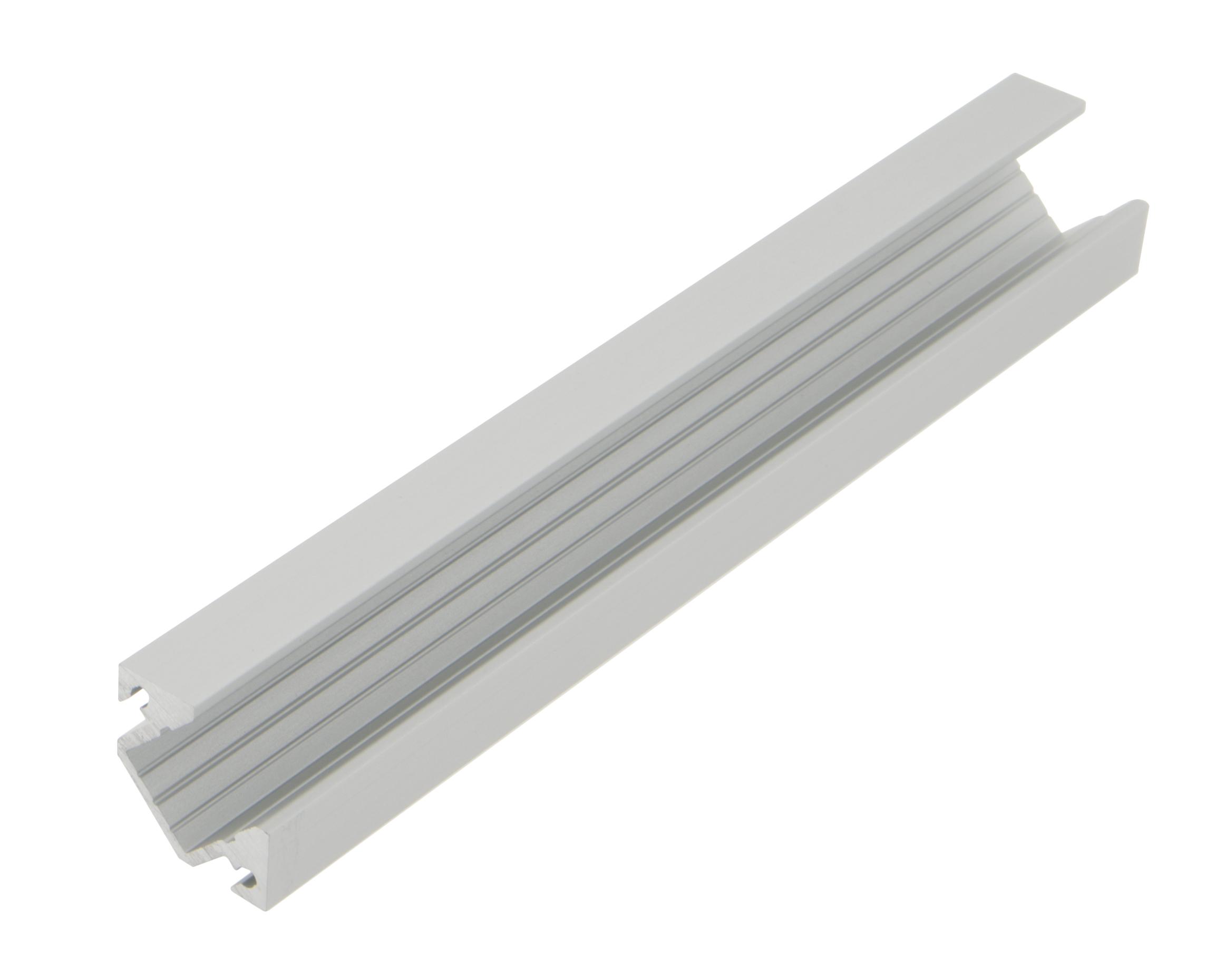 1 m Aluminiumprofil KLE, L-2000mm B-19mm H-19mm LIAP008003