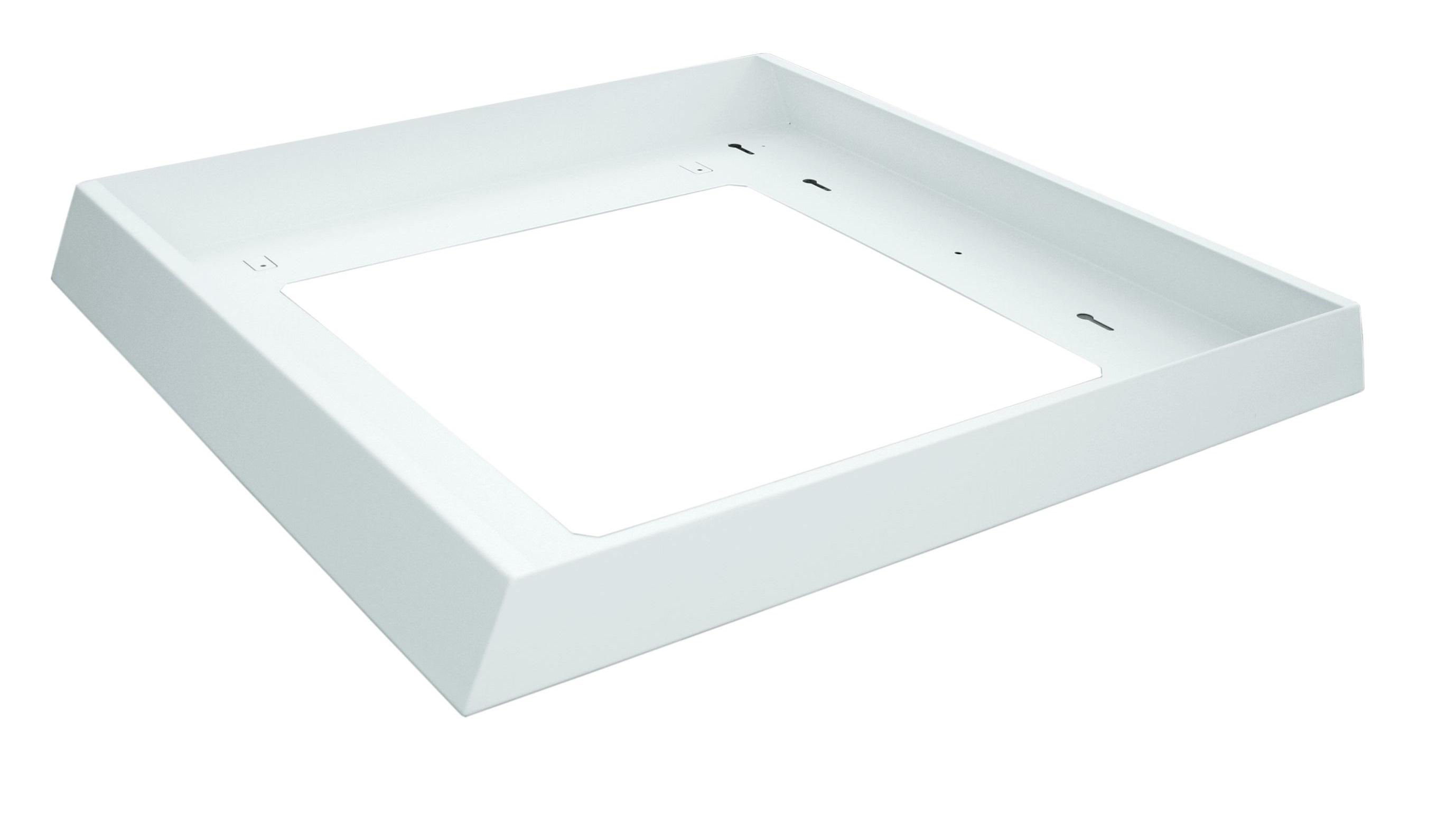 1 Stk Aufbaurahmen für LED Panel LANO 3 625x625mm, weiß LIARABR625