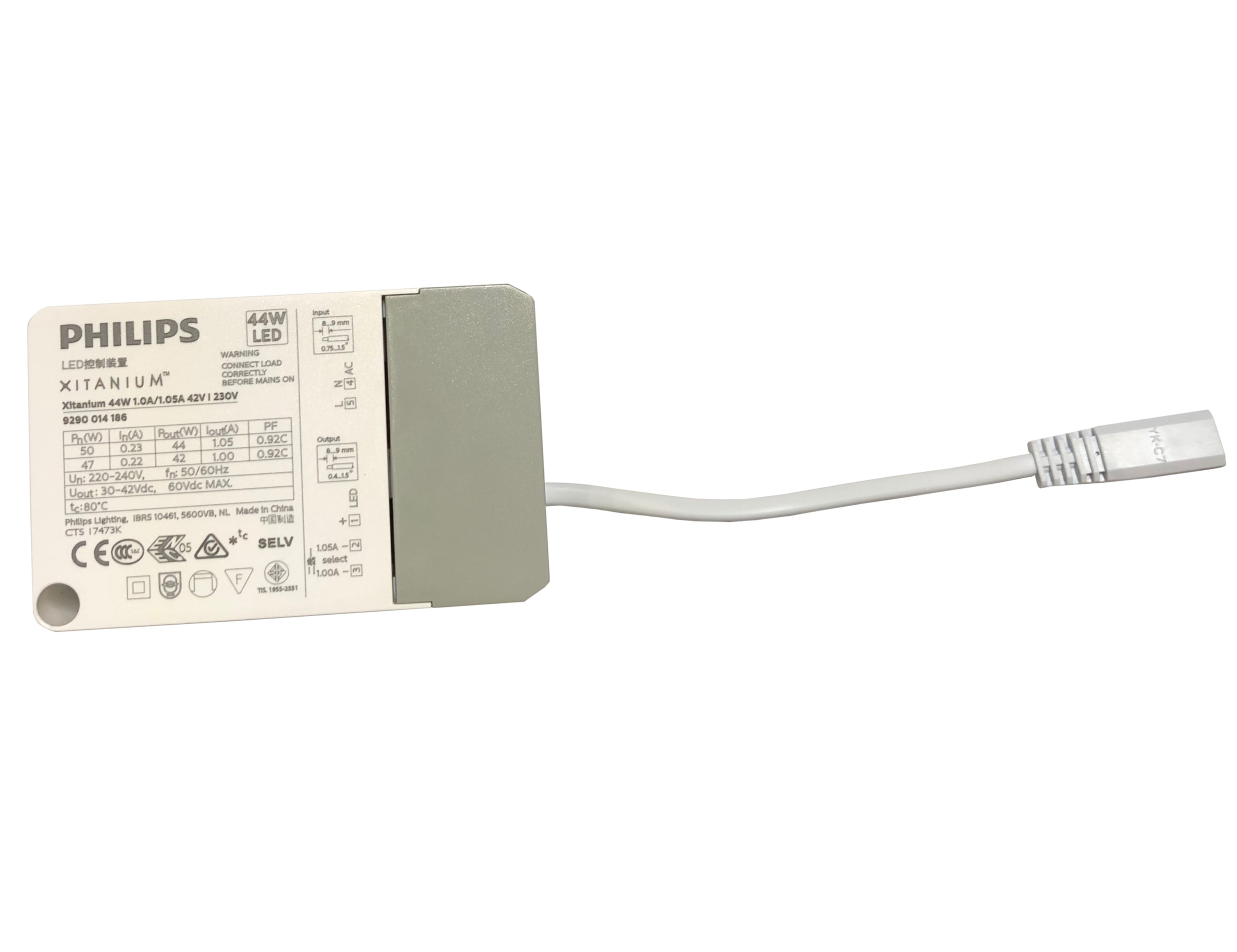 1 Stk LED Treiber 1050mA für LANO 3 40W, schaltbar LIARTR1050