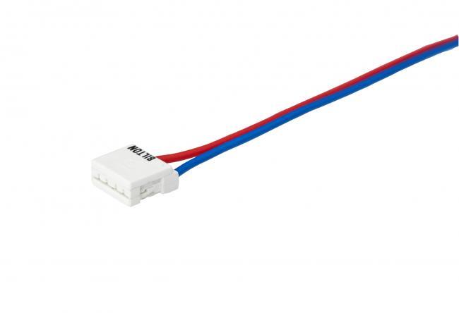 1 Stk 2-poliger Connector mit 50mm Anschlussleitung  LIBICON25-