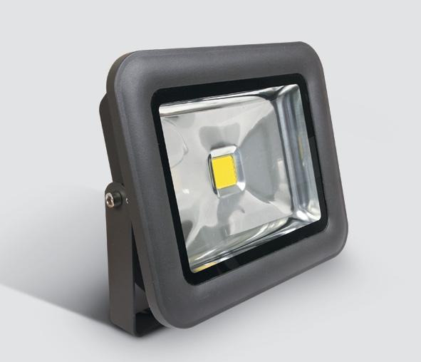 Sigma Single LED, 30W, 6000K, 2200lm, 120°, alu, anthrazit