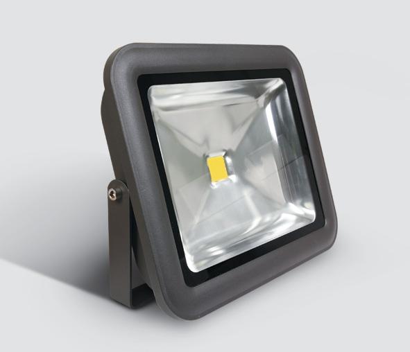 Sigma Single LED, 50W, 3000K, 3300lm, 120°, alu, anthrazit