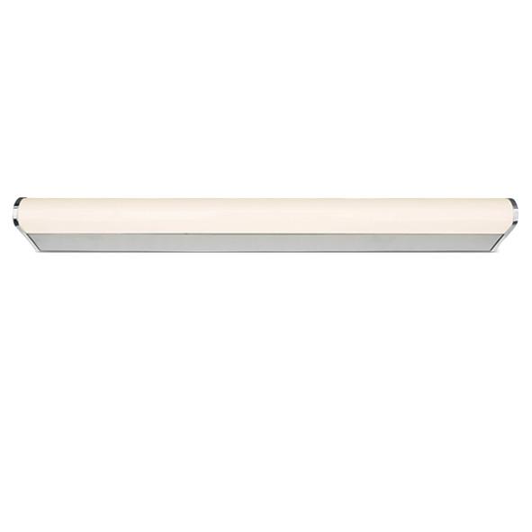 Bath Round Small, LED, 23W, 4000K, 1650lm, IP44, chrom