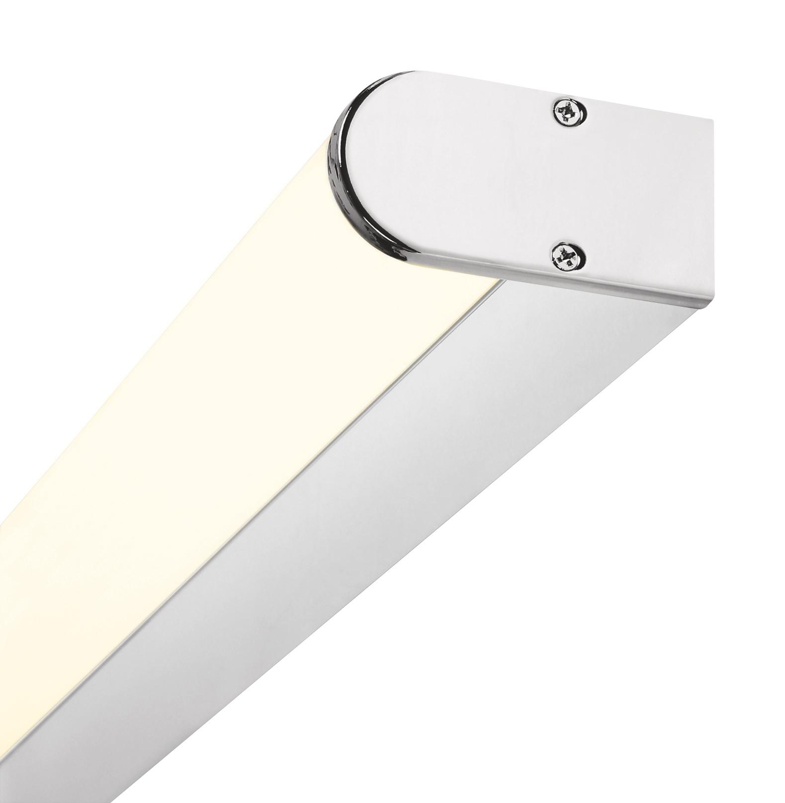 Bath Round Small, LED, 23W, 3000K, 1650lm, IP44, chrom