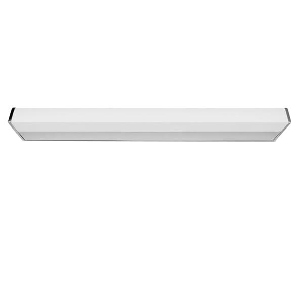 Bath Square Small, LED, 23W, 4000K, 1650lm, IP44, chrom