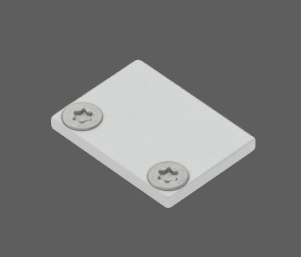 1 Stk Profil Endkappe LBL Flach geschlossen inkl. Schrauben LIEK001000