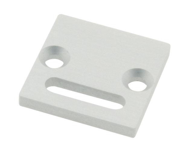 1 Stk Profil Endkappe LBR Flach mit Langloch LIEK001201