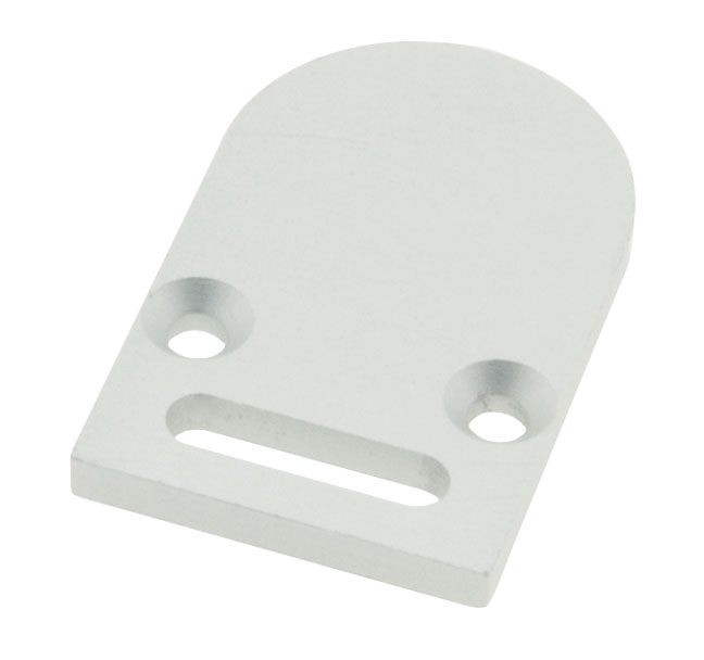 1 Stk Profil Endkappe LBR rund mit Langloch LIEK001211