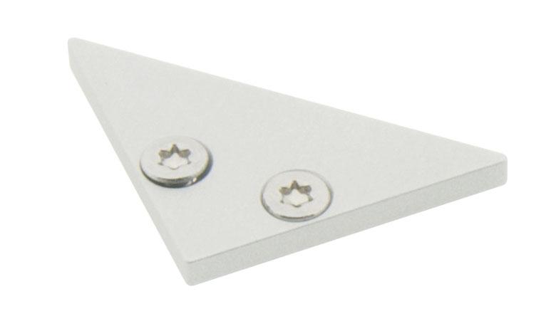 1 Stk Profil Endkappe LBE Flach geschlossen LIEK001300