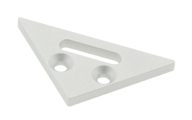 1 Stk Profil Endkappe LBE Flach mit Langloch LIEK001301