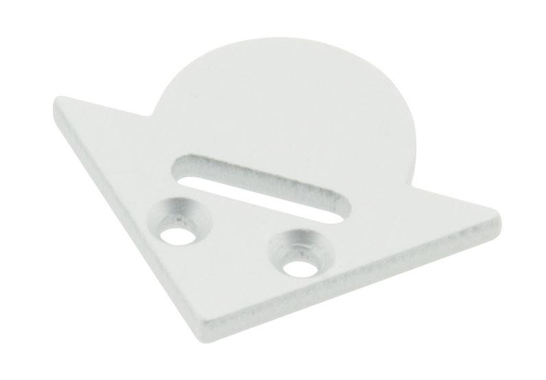 1 Stk Profil Endkappe LBE Rund mit Langloch LIEK001311