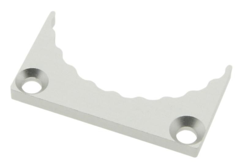 1 Stk Profil Endkappe LBK Flach geschlossen LIEK001602
