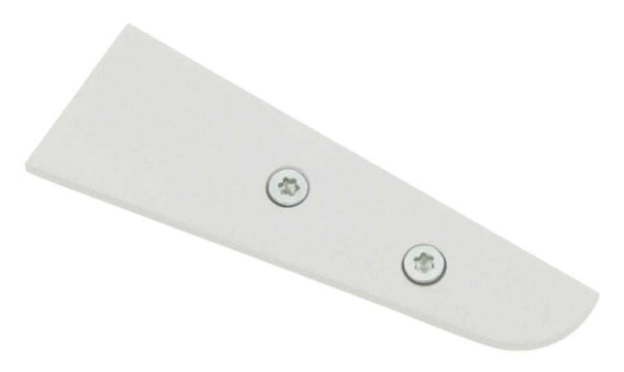 1 Stk Profil Endkappe LBV Flach geschlossen LIEK001700